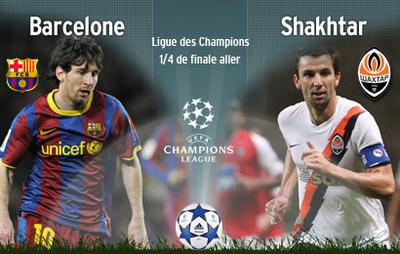 Barcelone-Shakhtar Donetsk