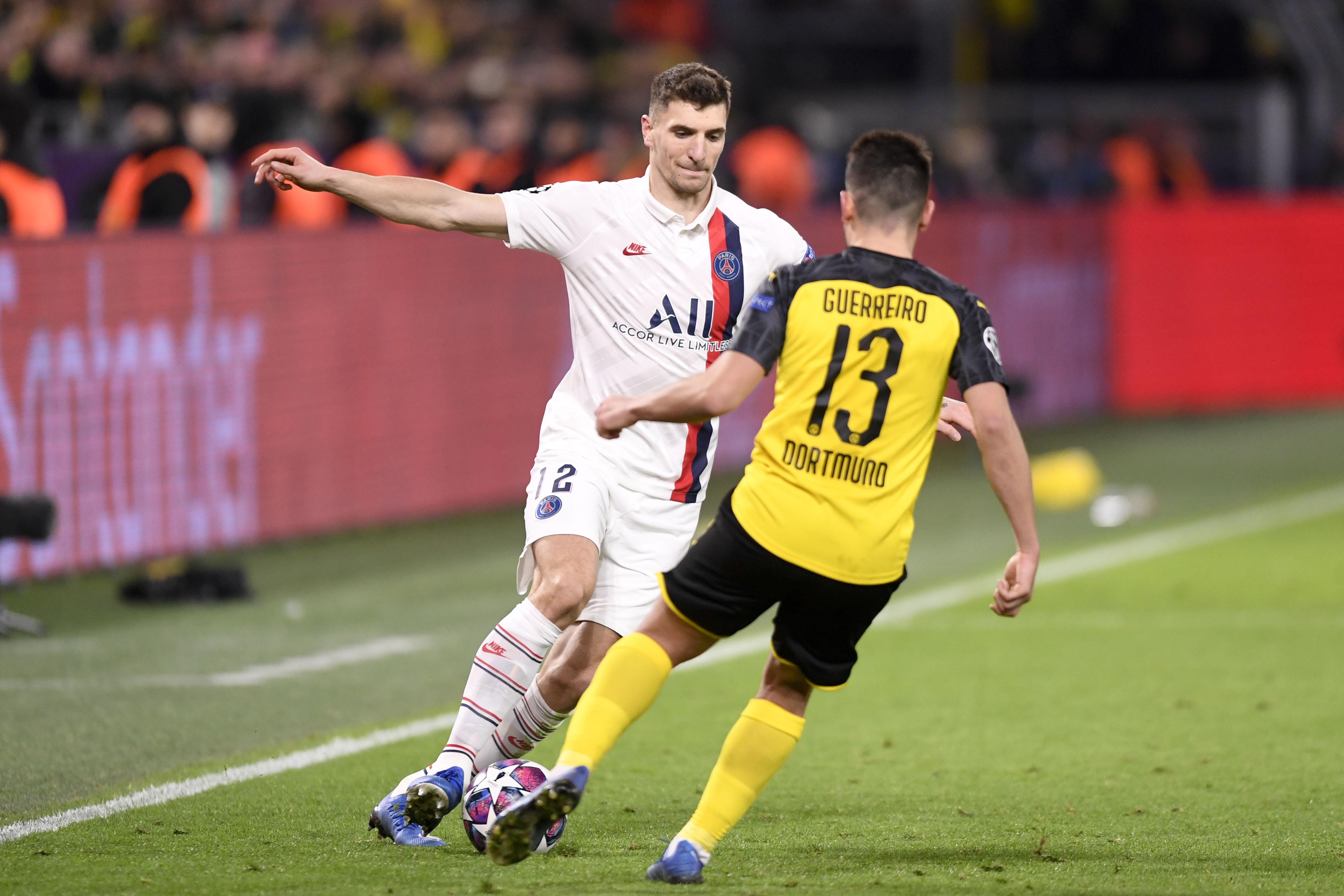 Football - Ligue des champions - Meunier autorisé à (re)jouer avec le PSG: le beau geste de Dortmund