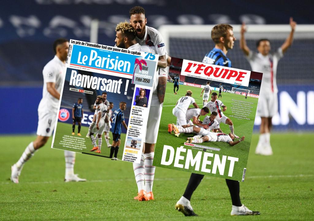 Football - Ligue des champions - Le «miracle» parisien vu par la presse française