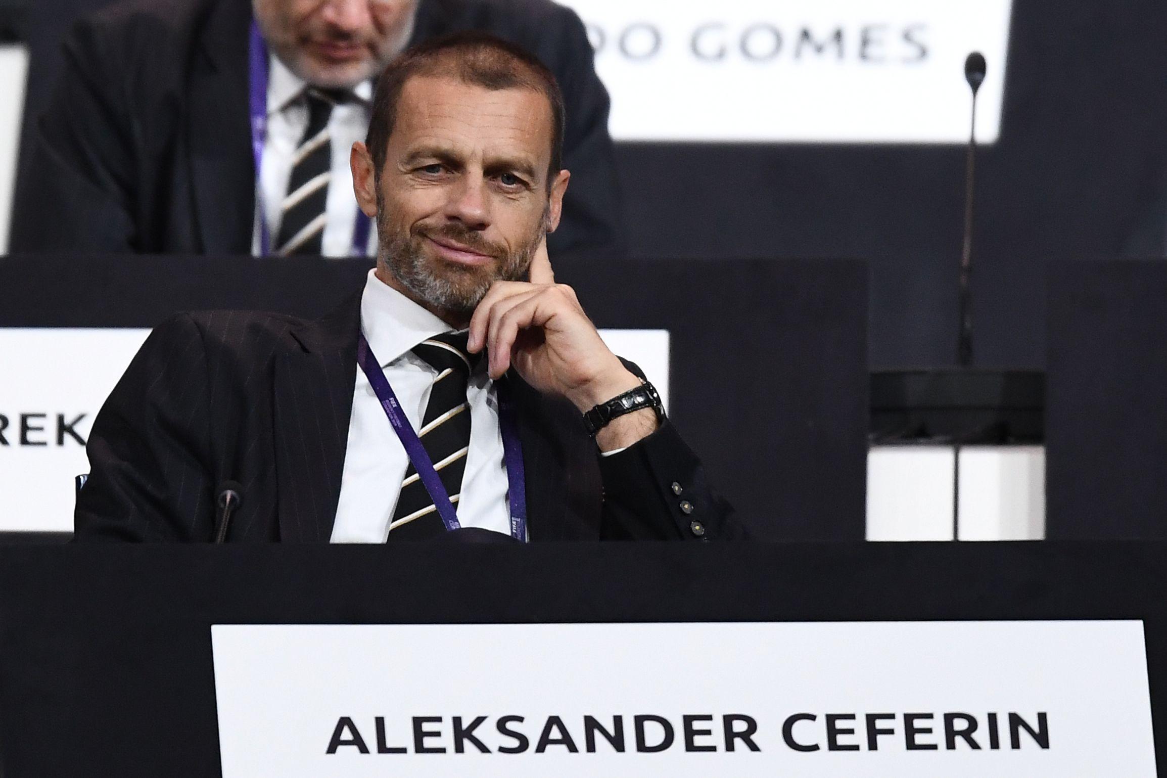 Football - Ligue des champions - Le président de l'UEFA recadre sèchement Emmanuel Macron : «Une ingérence politique»