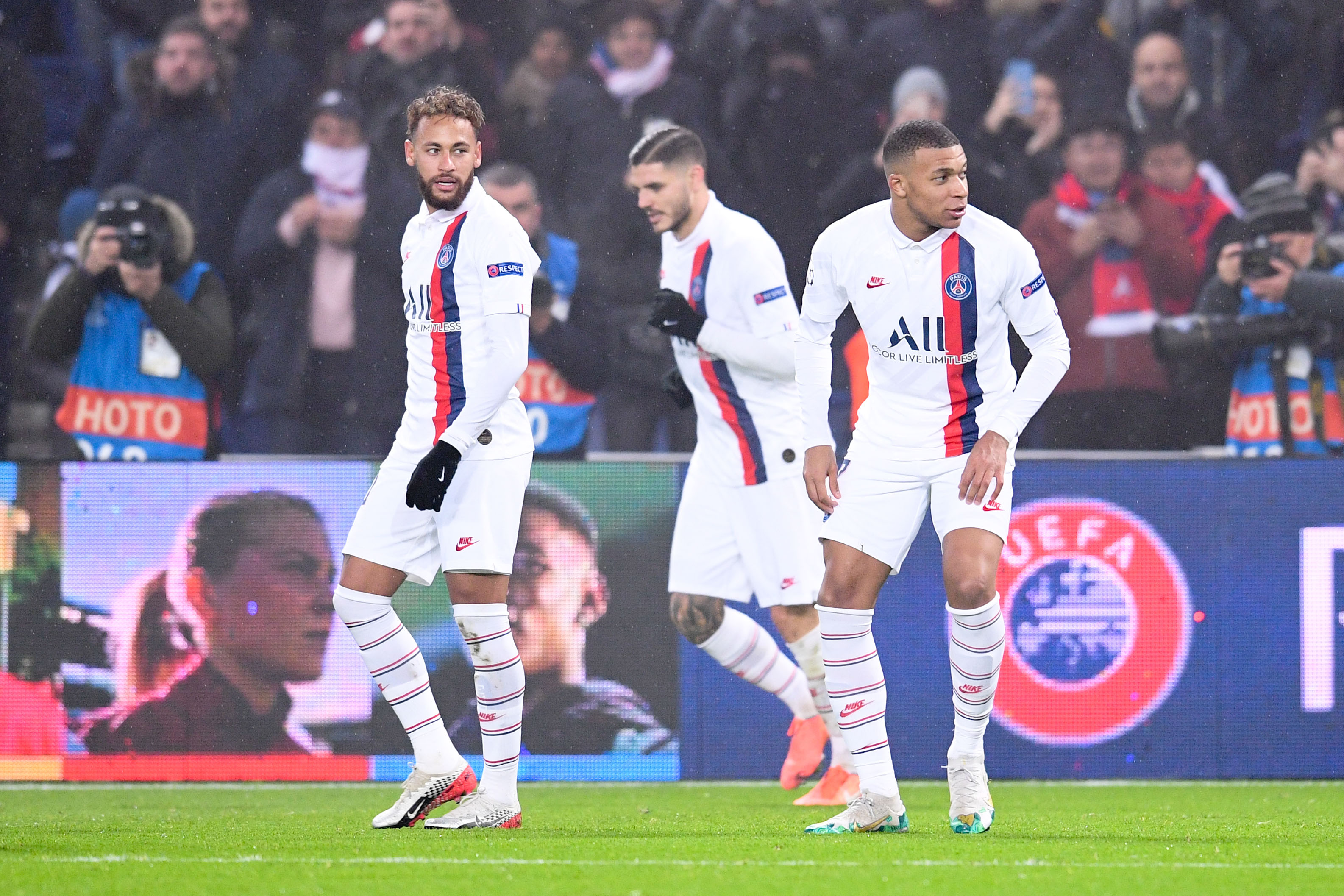 Football - Ligue des champions - Le PSG avec quatre attaquants, c'est (peut-être) possible finalement