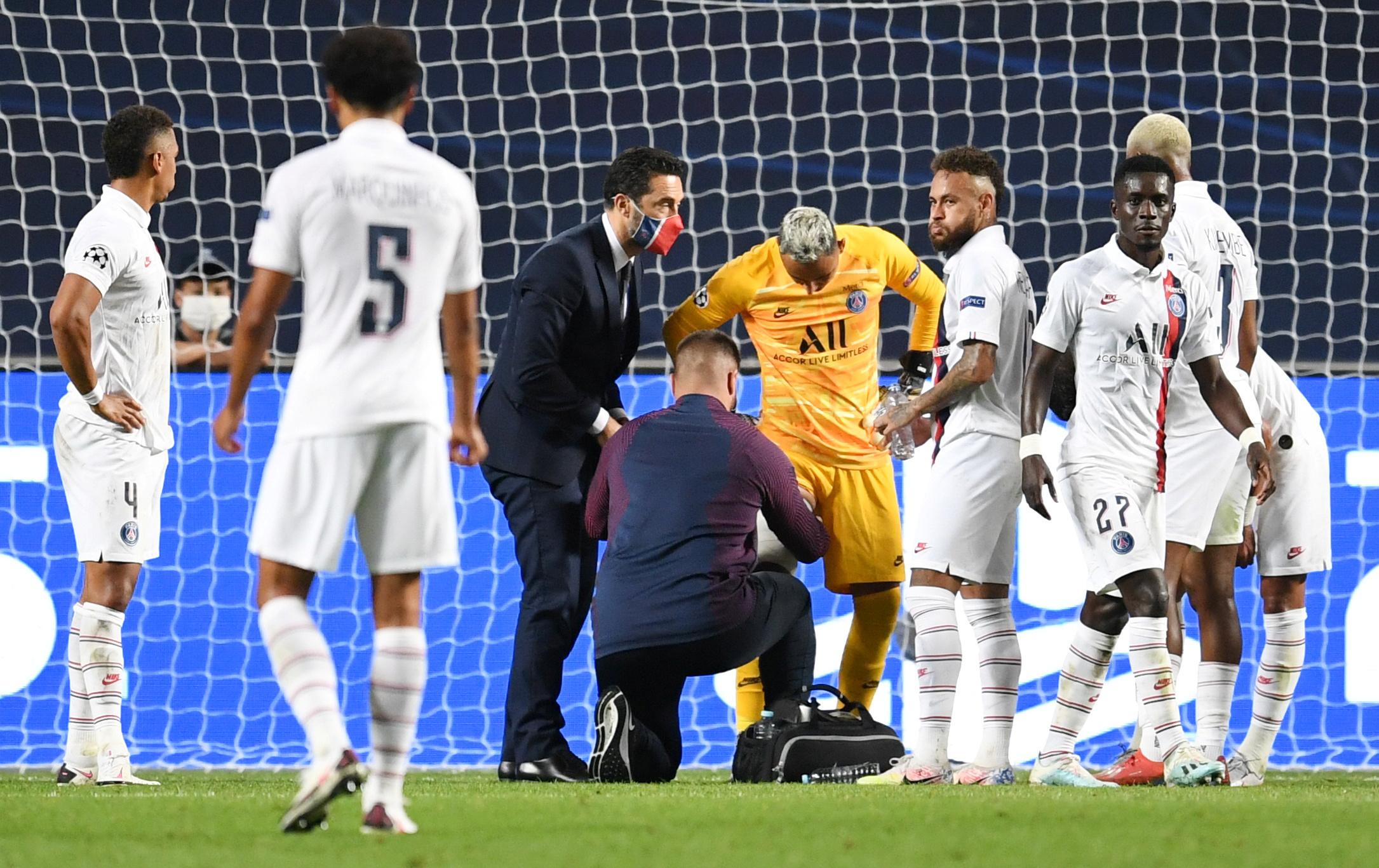 Football - Ligue des champions - Le PSG convoque son quatrième gardien après la blessure de Keylor Navas