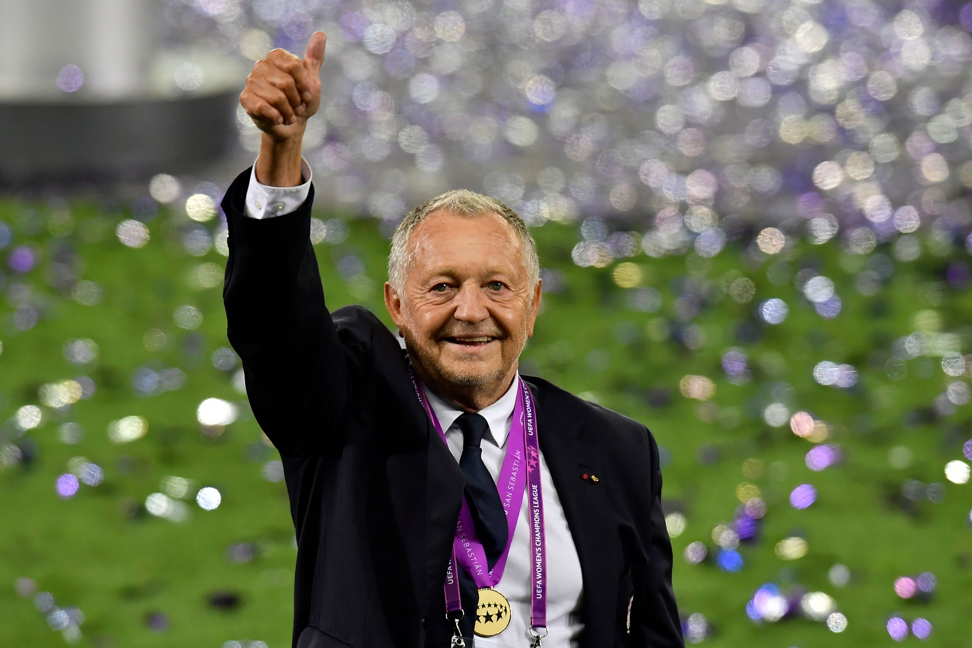 Football - Ligue des champions - «Légendaire», «absolument incroyable», se réjouit le président Aulas