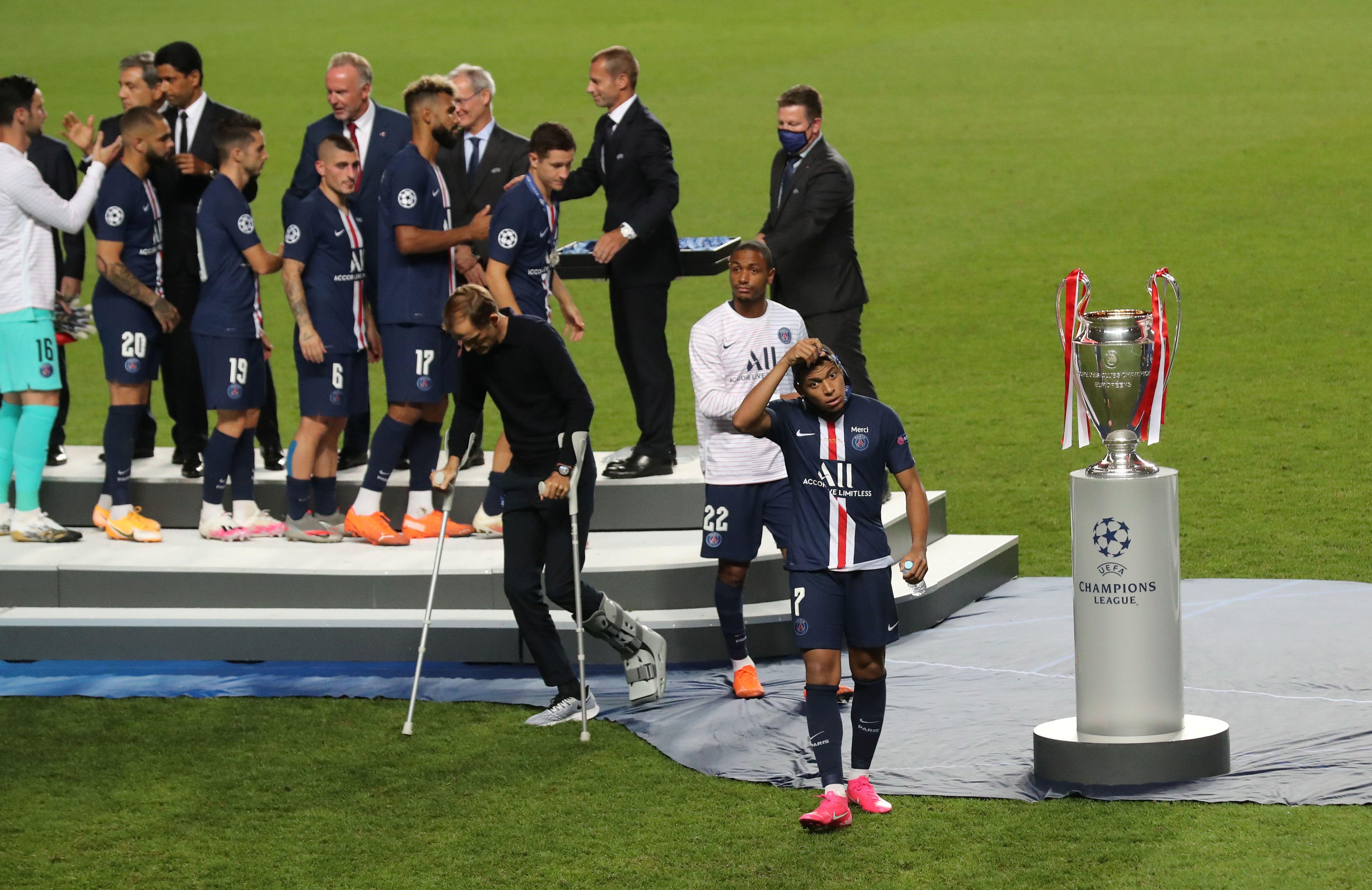 Football - Ligue des champions - Les chantiers d'un PSG qui navigue entre tristesse et promesses