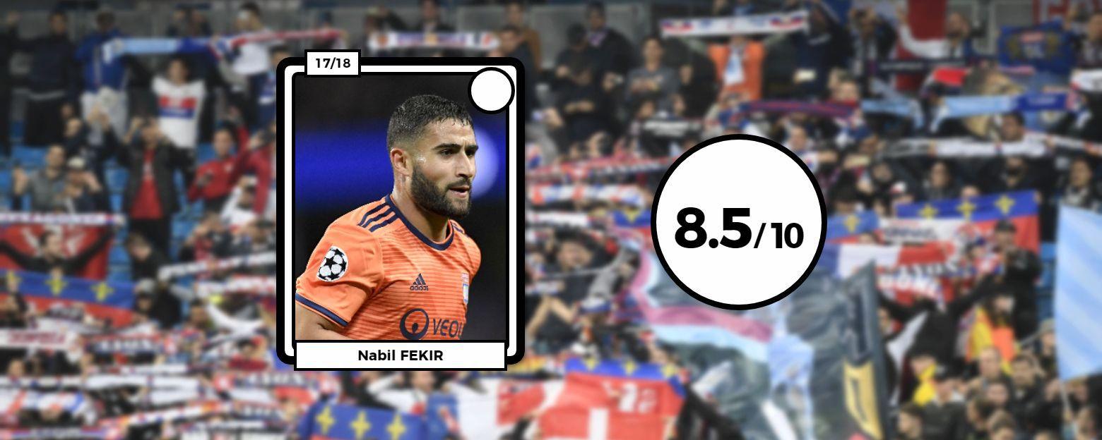 Football - Ligue des champions - Les notes des Lyonnais après Man. City-Lyon : Fekir étincelant, Lopes infranchissable