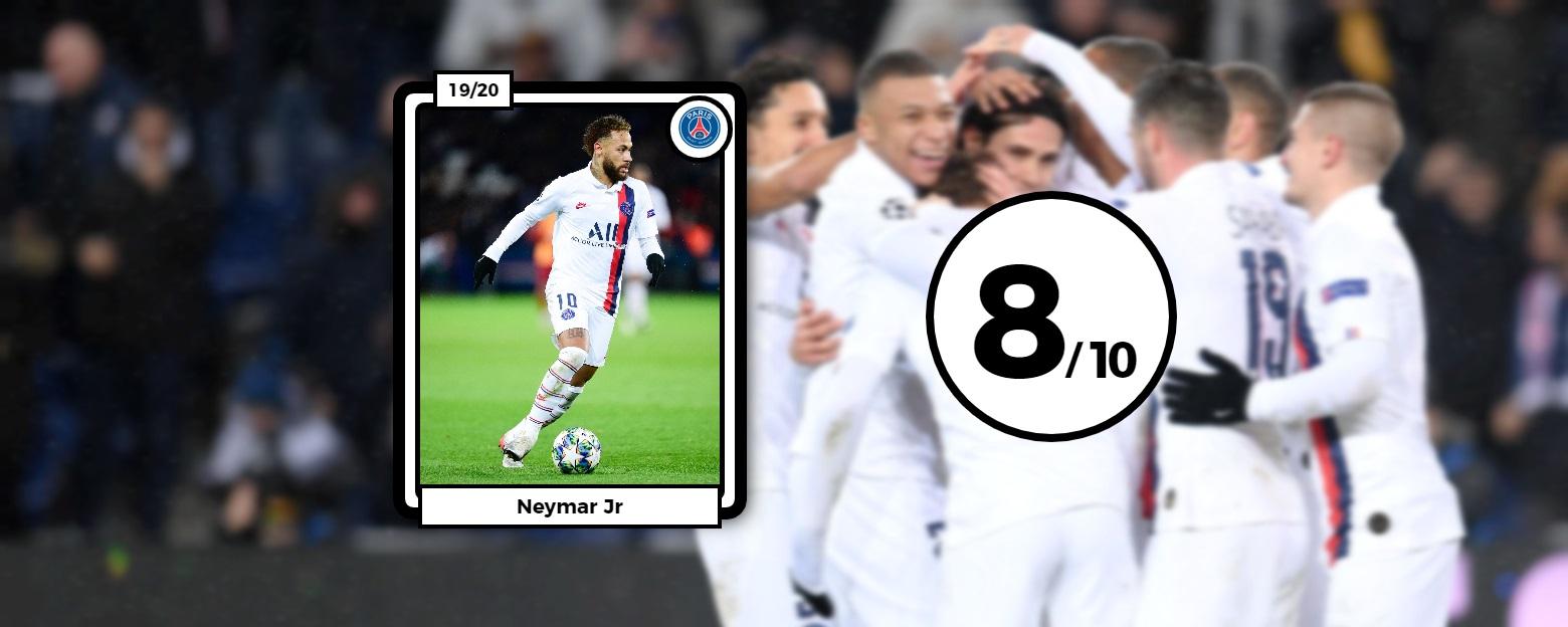 Football - Ligue des champions - Les notes des Parisiens face à Galatasaray : Neymar en parfait chef d'orchestre