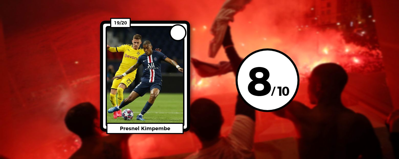 Football - Ligue des champions - Les notes des Parisiens : Kimpembe solide, l'étincelle Di Maria