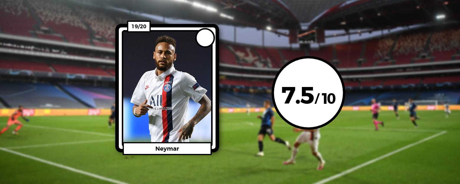 Football - Ligue des champions - Les notes des Parisiens : le paradoxe Neymar, Icardi et Sarabia fantomatiques