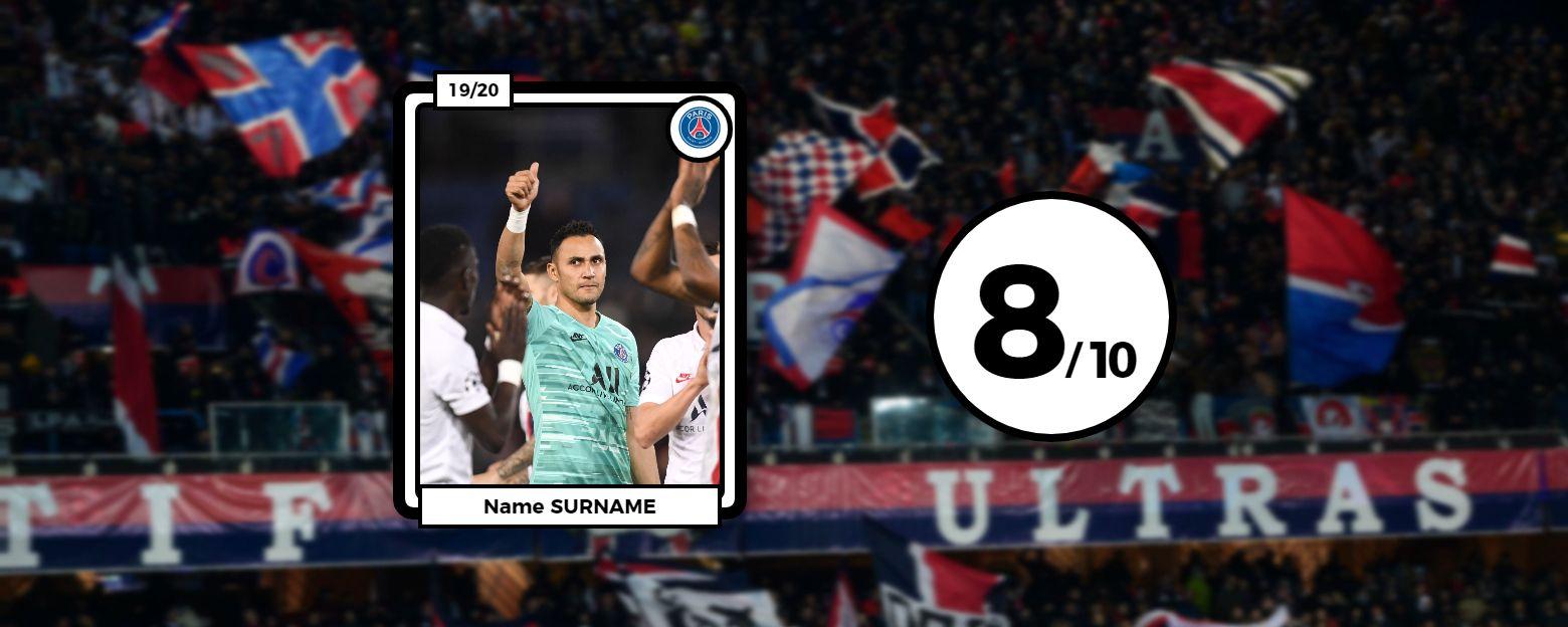 Football - Ligue des champions - Les notes du PSG face à Bruges : la muraille Navas, le fantôme Mbappé