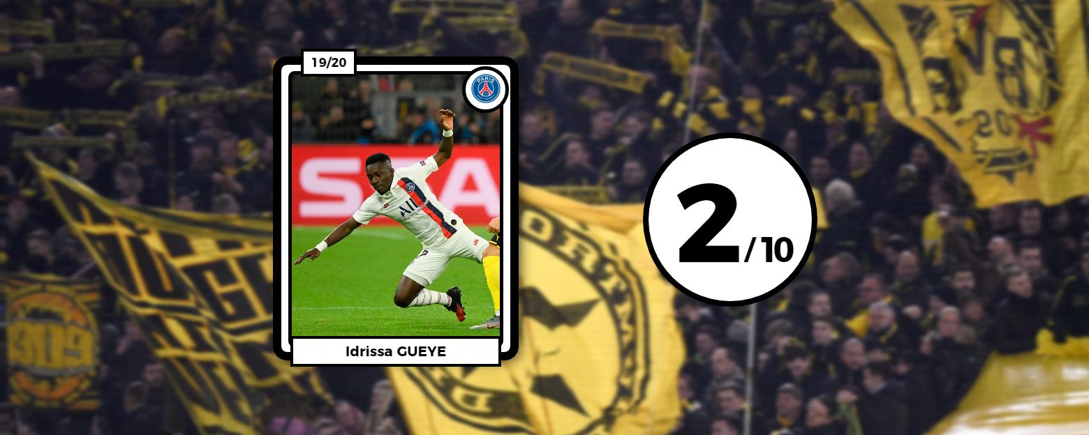 Football - Ligue des champions - Les notes du PSG : Gueye naufragé, Thiago Silva dévoré par Haaland