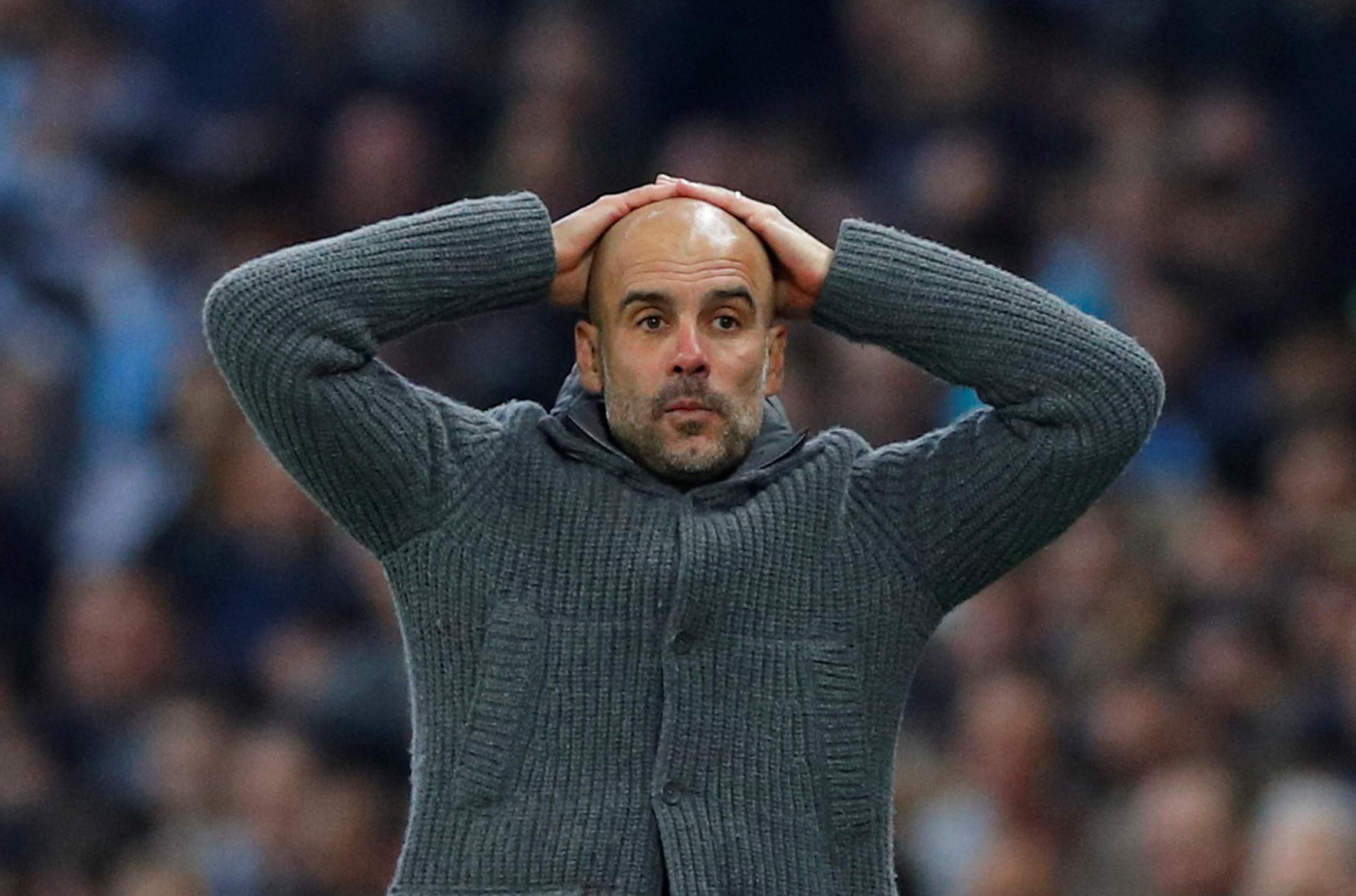 Football - Ligue des champions - Ligue des champions : avec Manchester City, Guardiola est maudit