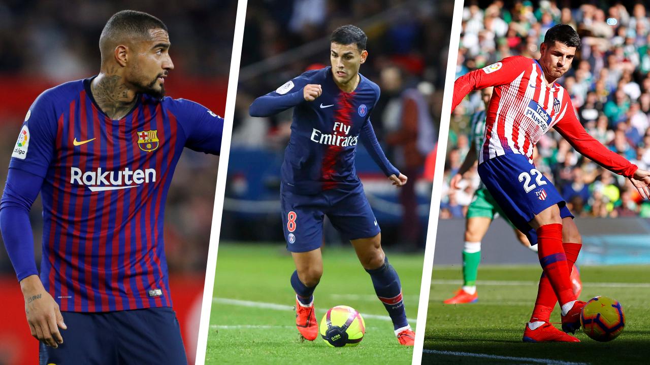 Football - Ligue des champions - Ligue des champions : ces joueurs qui ont changé de club cet hiver avant les 8es de finale