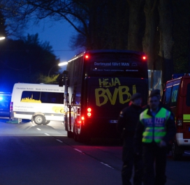 Le bus du Borussia