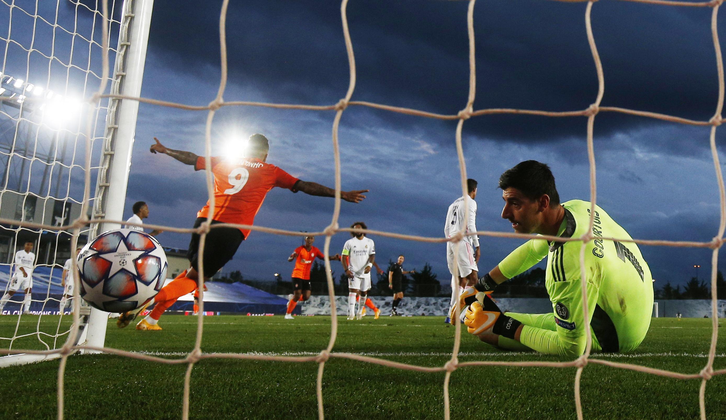 Le Real Madrid humilié par «l'équipe bis» de Donetsk - Ligue des champions - Football