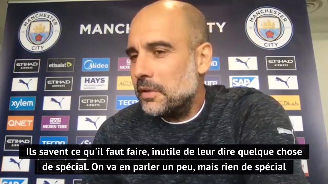 Football - Ligue des champions - Man City-Real Madrid: Comment Guardiola pique l'orgueil de ses joueurs