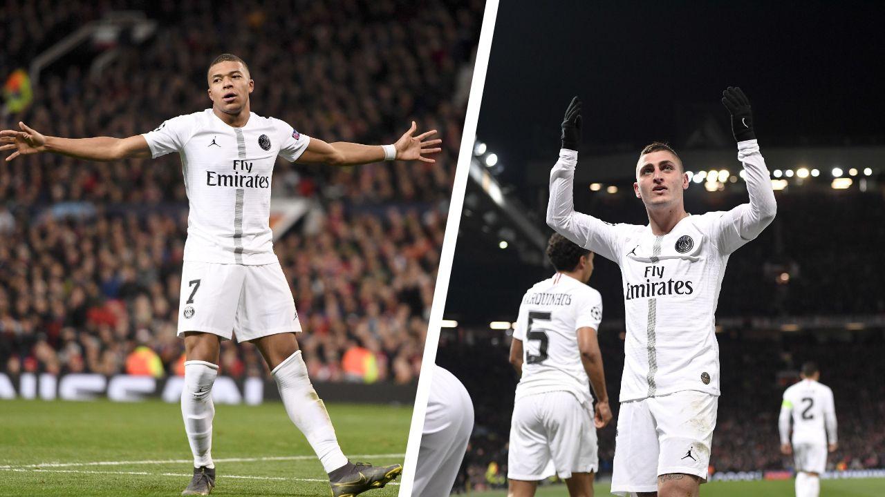 Football - Ligue des champions - Mbappé et l'Angleterre, 50e pour Verratti... Les chiffres à connaître avant PSG-Man. United