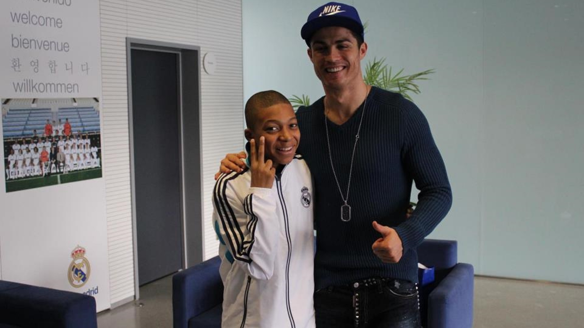Football - Ligue des champions - Mbappé-Ronaldo : quand l'ado s'apprête à recroiser son idole