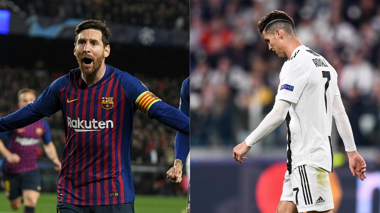 Football - Ligue des champions - Messi rit, Ronaldo pleure ... La course au Ballon d'Or (déjà) pliée ?