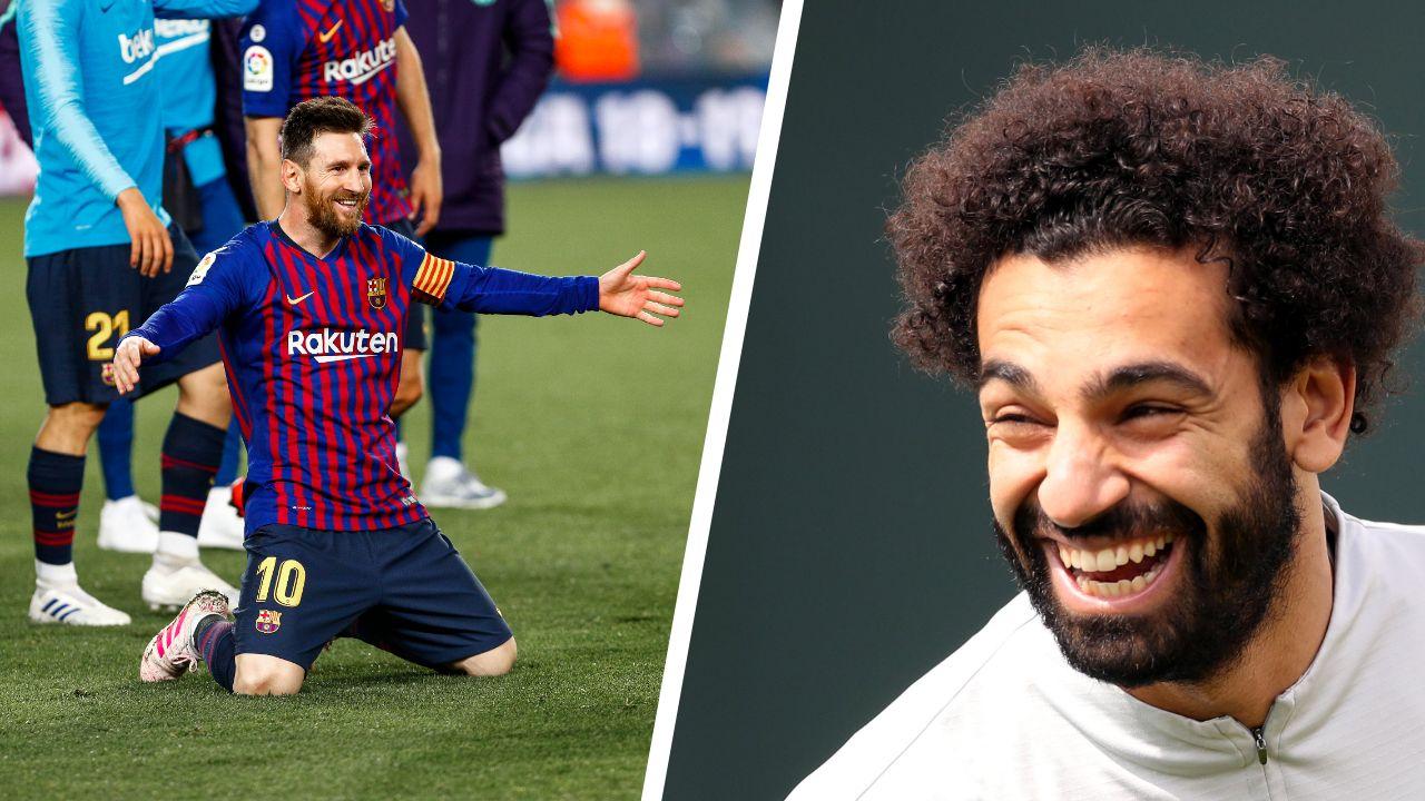 Football - Ligue des champions - Messi/Salah, duel pour un Ballon d'or ?