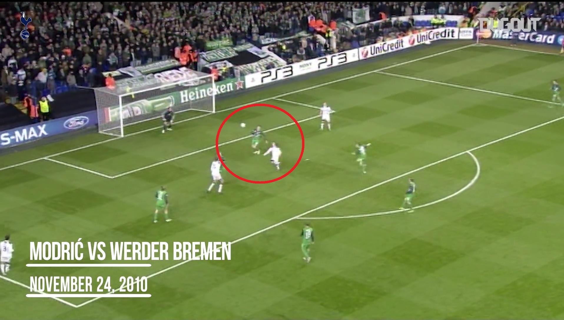 Football - Ligue des champions - Modric, Kane, Crouch... les 5 plus beaux buts de Tottenham face aux clubs allemands