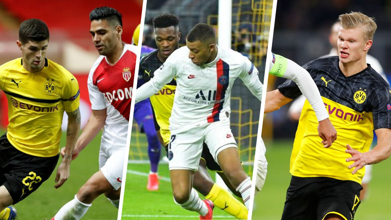 Football - Ligue des champions - Monaco, Mbappé, Haaland : les stats à connaître avant PSG - Dortmund