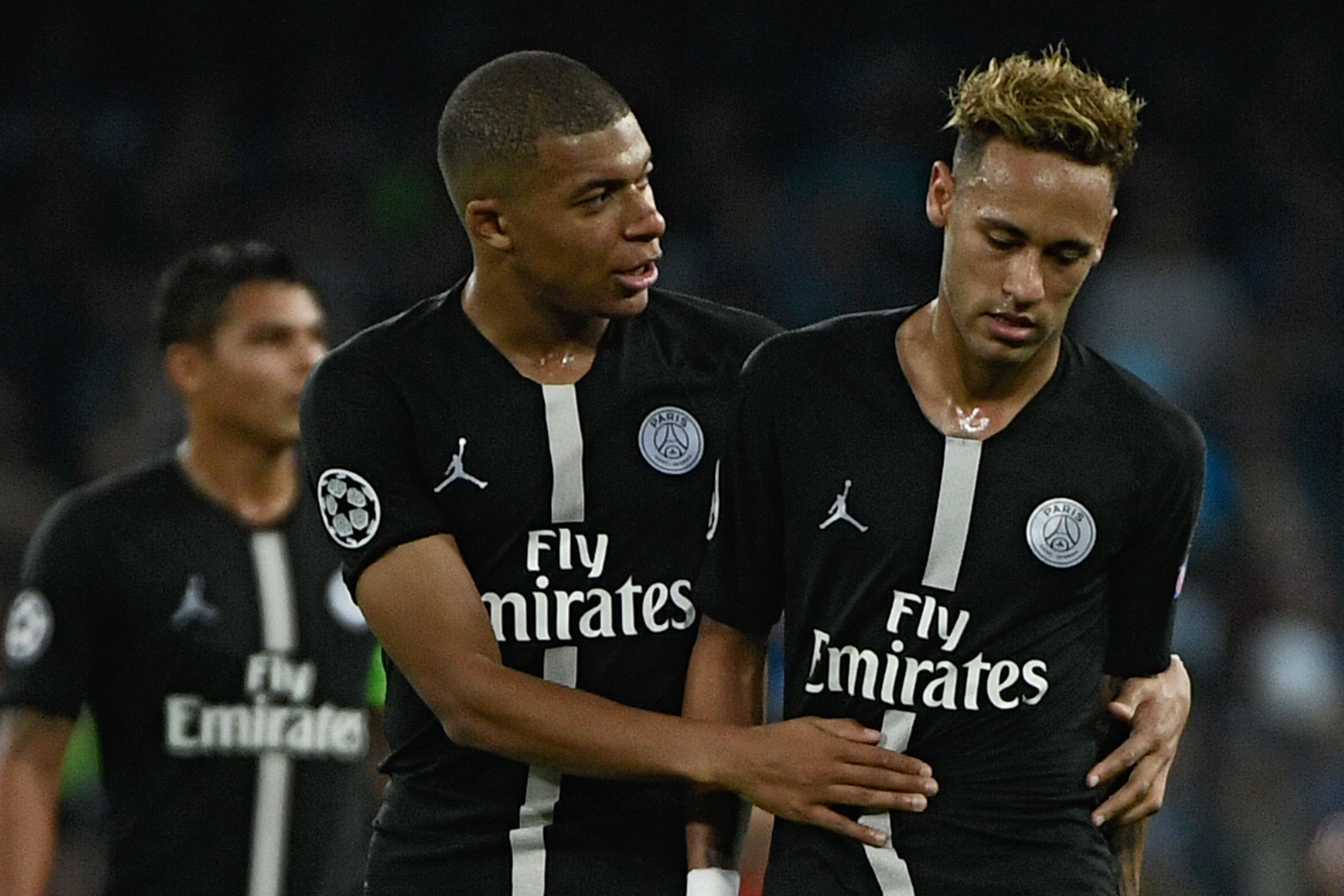 Football - Ligue des champions - Naples-PSG: Le coup de gueule de Neymar contre l'arbitre