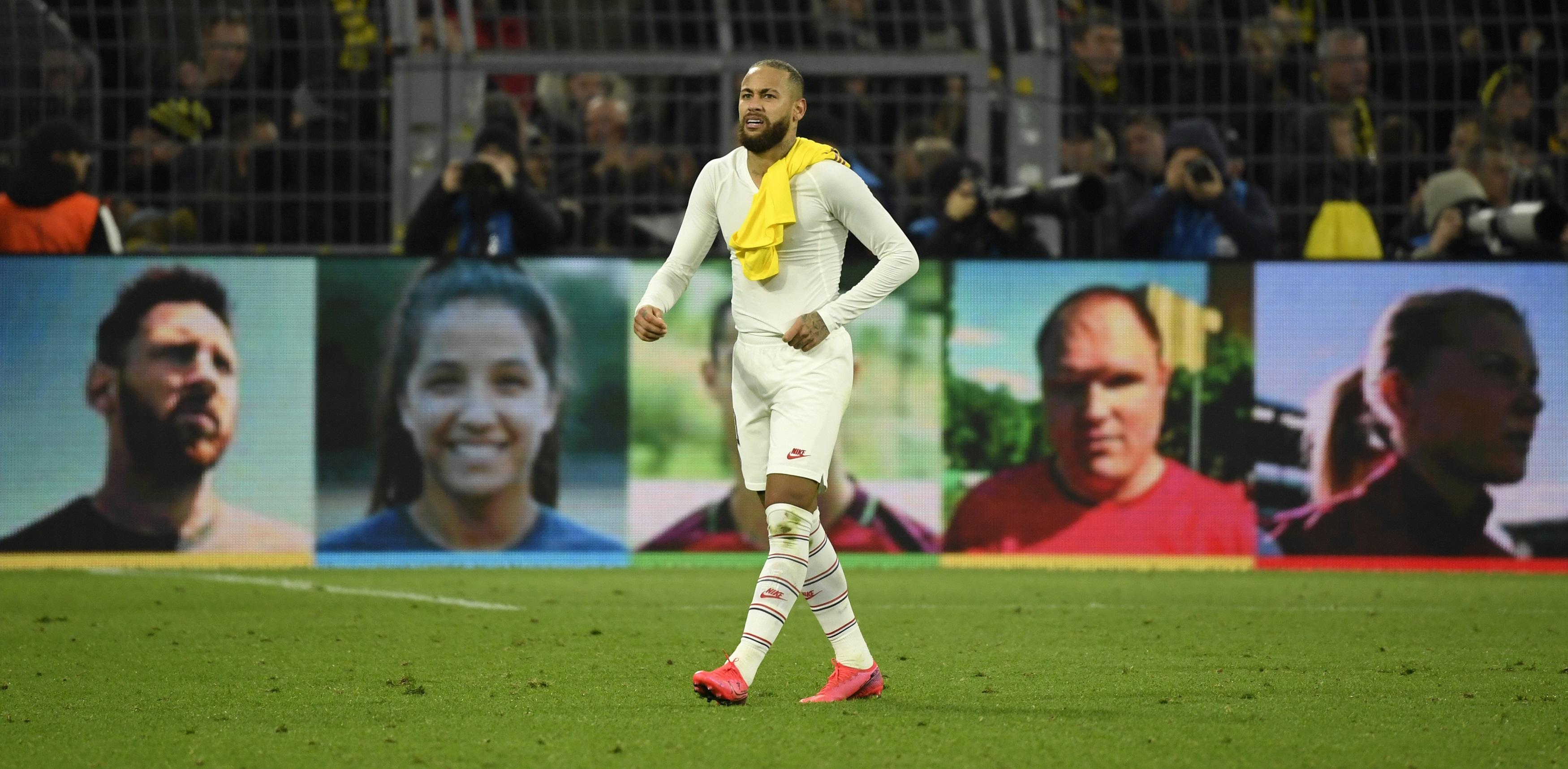 Football - Ligue des champions - Neymar critique le PSG : «Je n'ai pas aimé la décision du club»