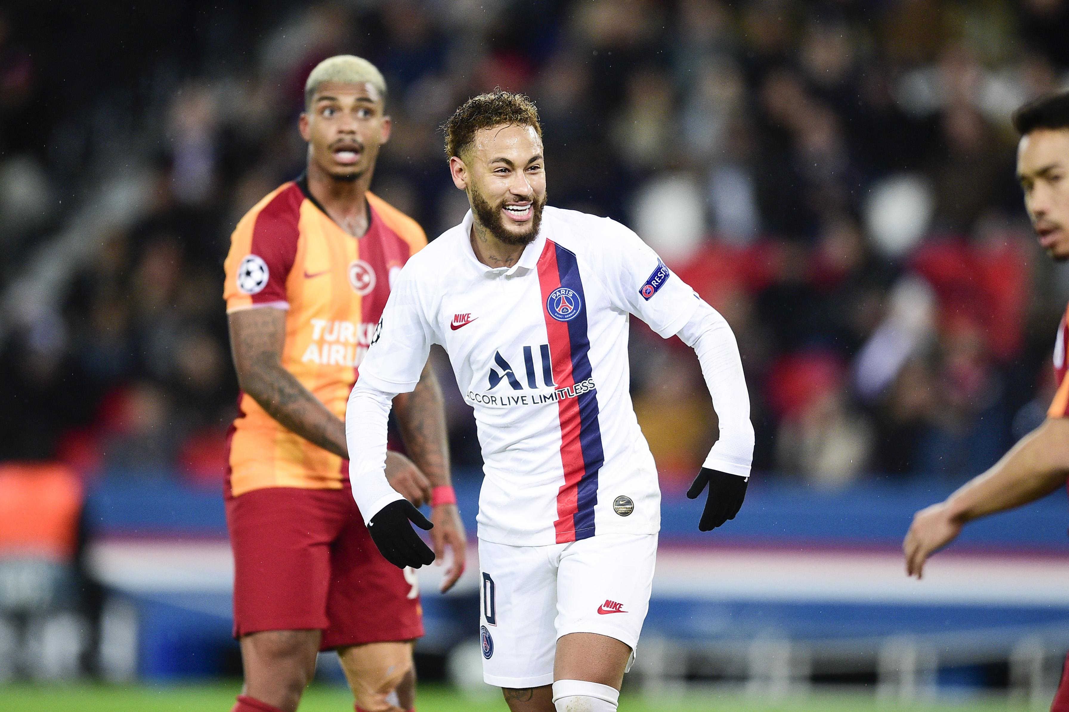 Football - Ligue des champions - Neymar : «Je suis heureux quand je joue au football, peu importe où je suis»