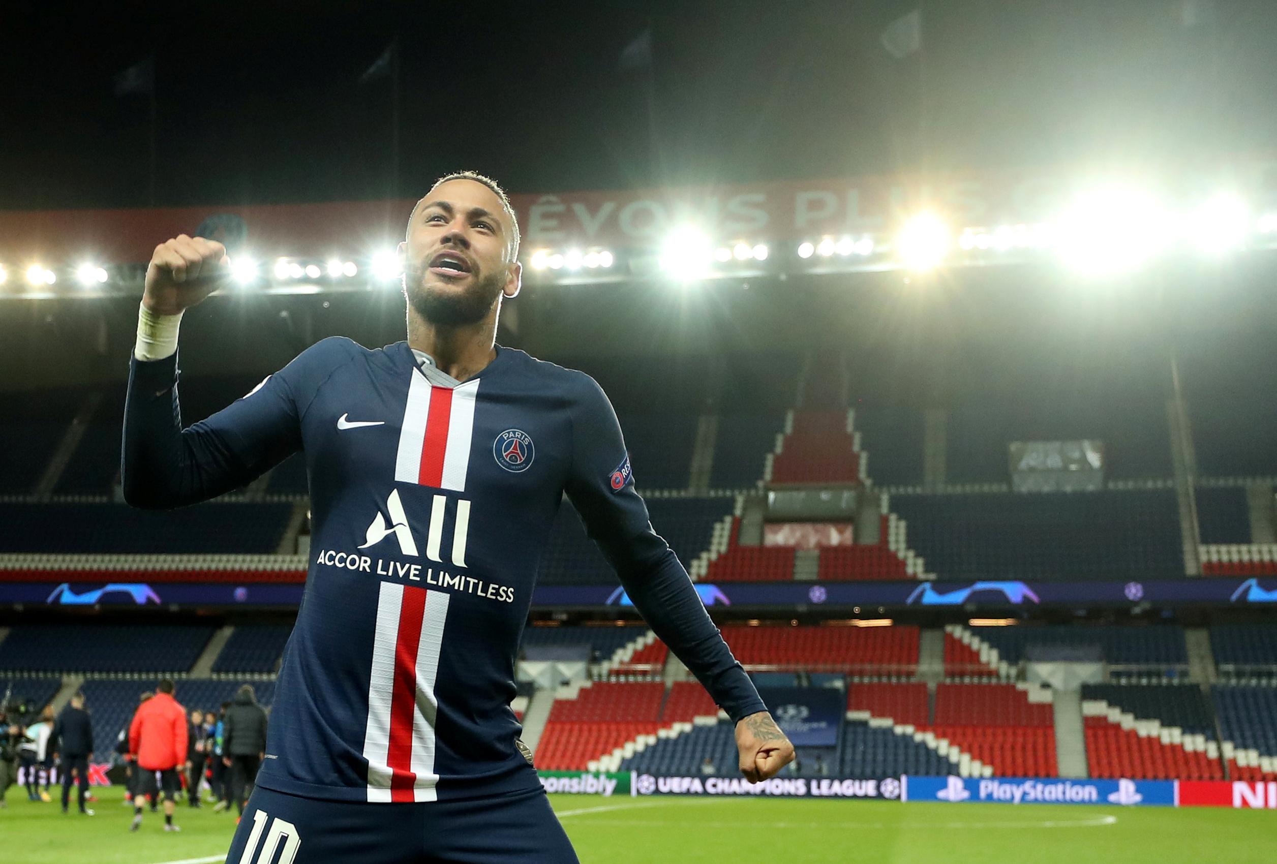Football - Ligue des champions - Neymar veut «écrire l'Histoire» avec le PSG en Ligue des champions