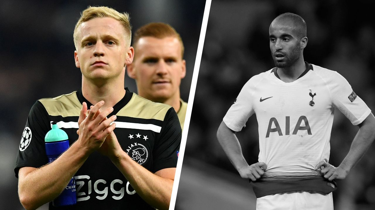 Football - Ligue des champions - Tops/flops Tottenham-Ajax Amsterdam : Van de Beek décisif, des Spurs inoffensifs