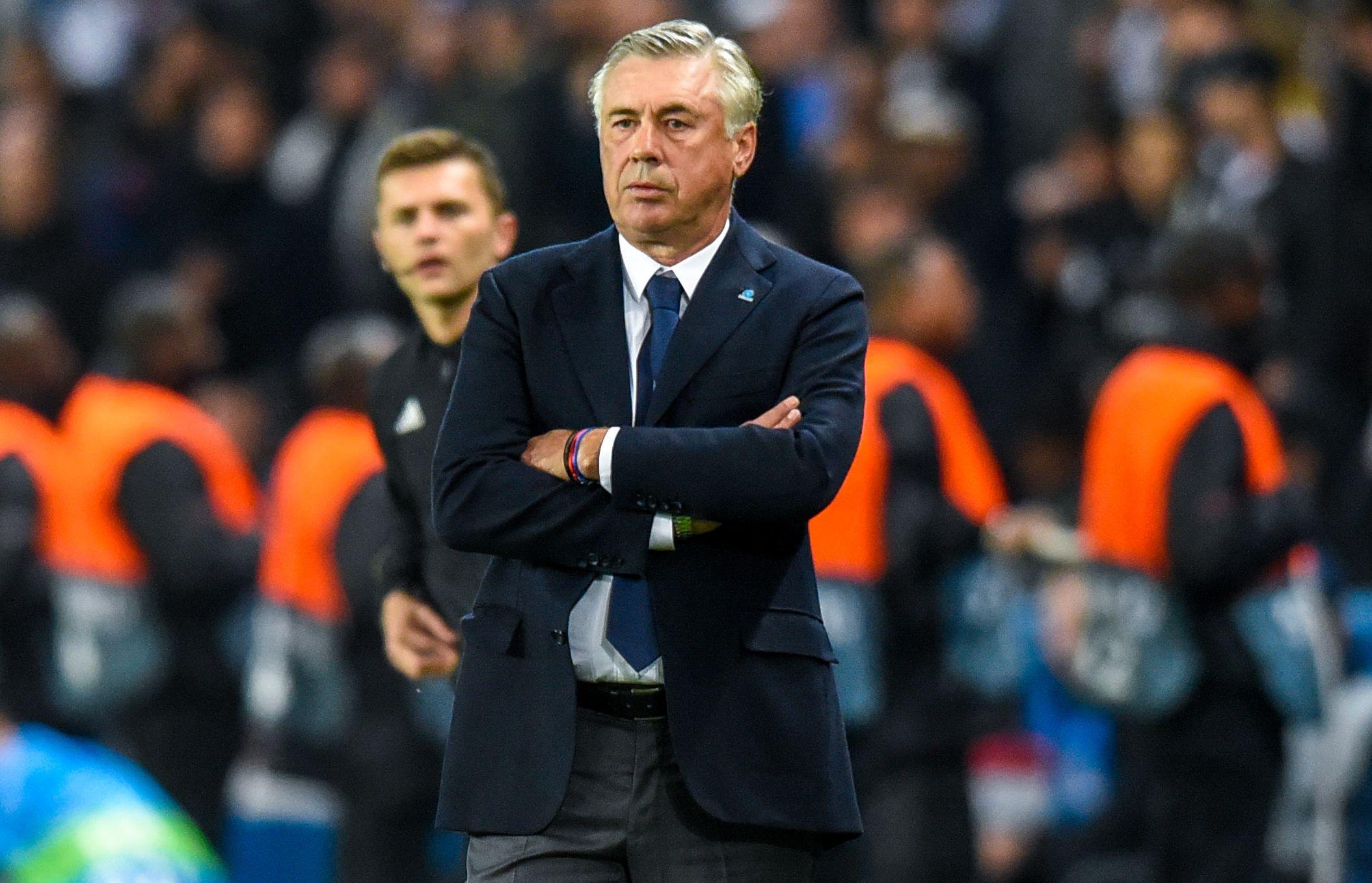 Football - Ligue des champions - Pour Ancelotti, Naples «méritait de gagner» au Parc des Princes