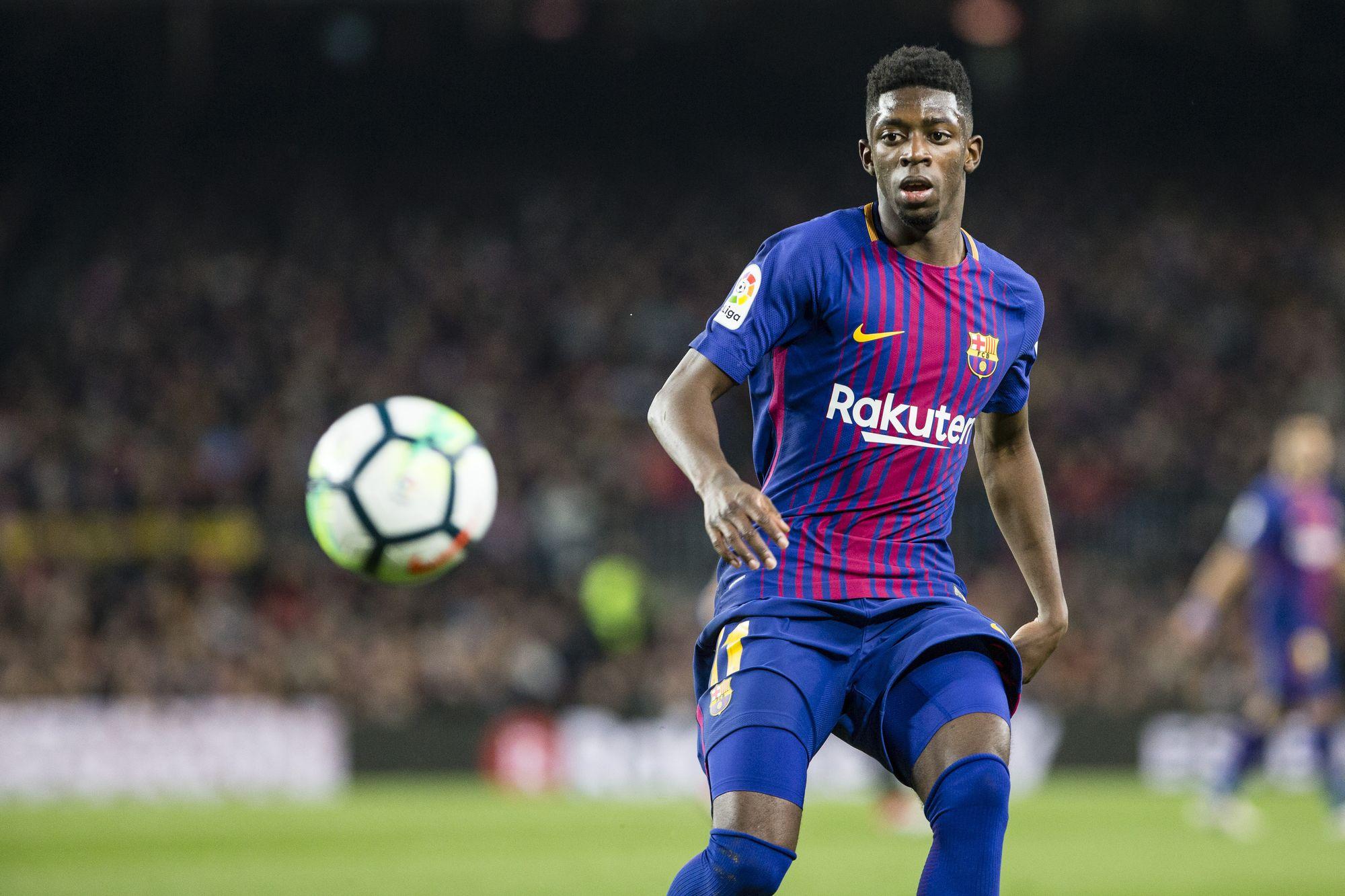 Football - Ligue des champions - Pour Busquets, Dembélé va réussir au Barça