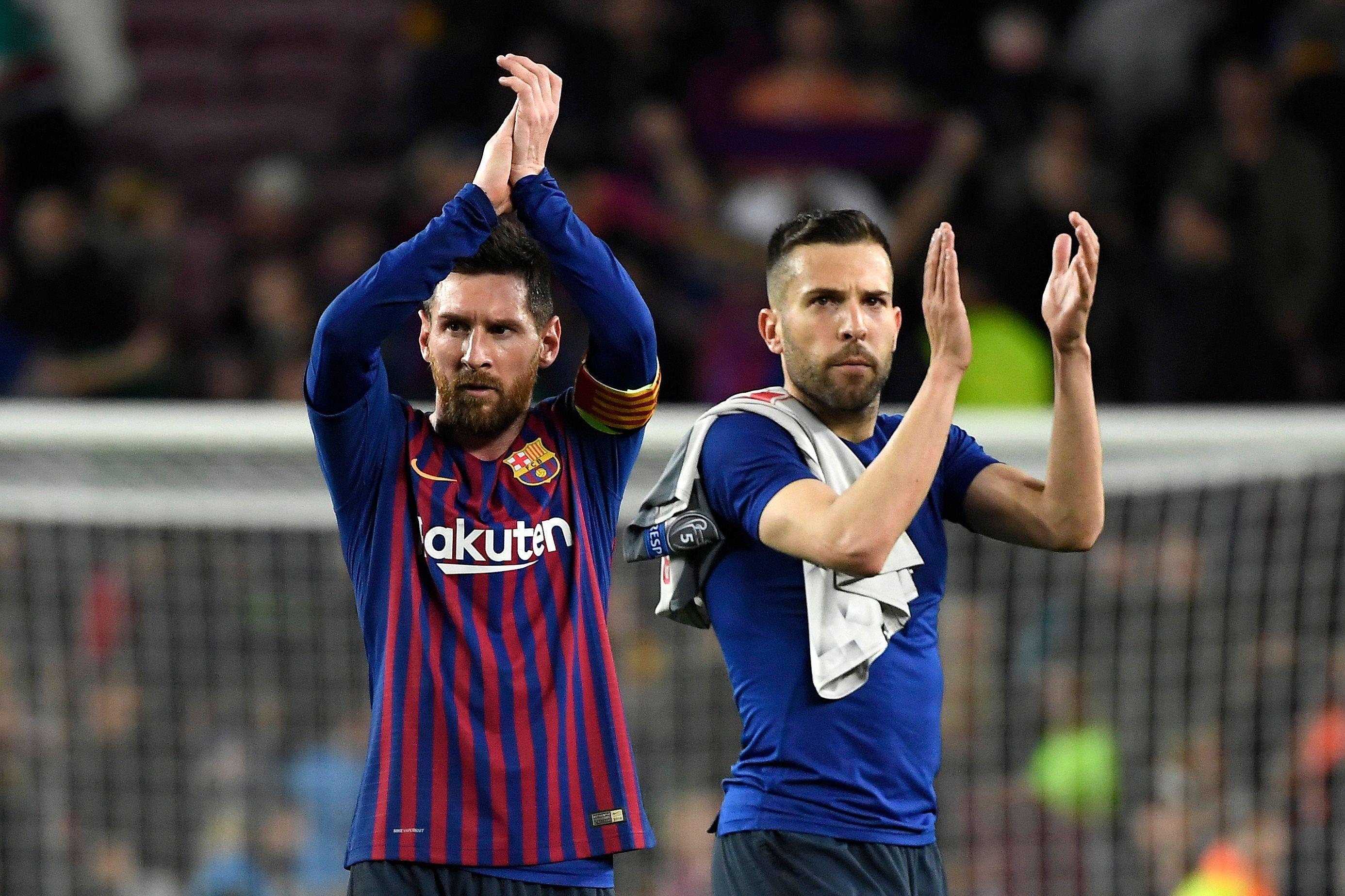 Football - Ligue des champions - Pour Jordi Alba, «Messi est le meilleur, personne ne peut le nier !»