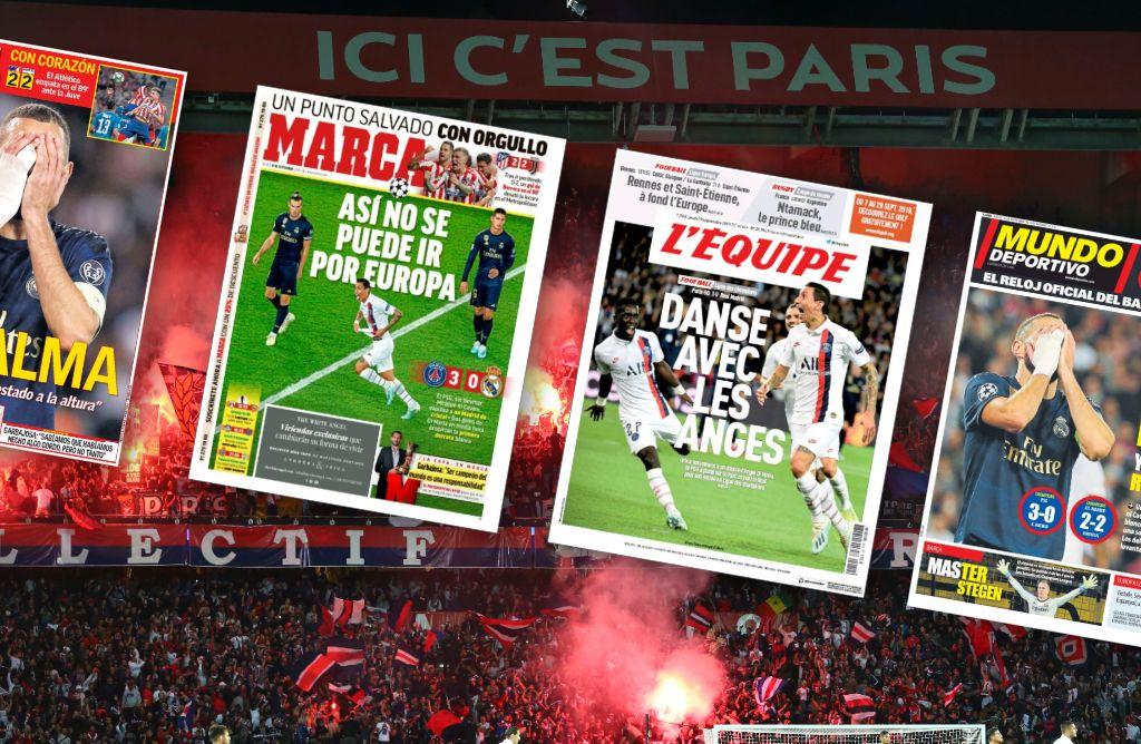 Football - Ligue des champions - Pour l'Espagne, un Real «sans âme et en cristal» a été «écrasé» par le PSG
