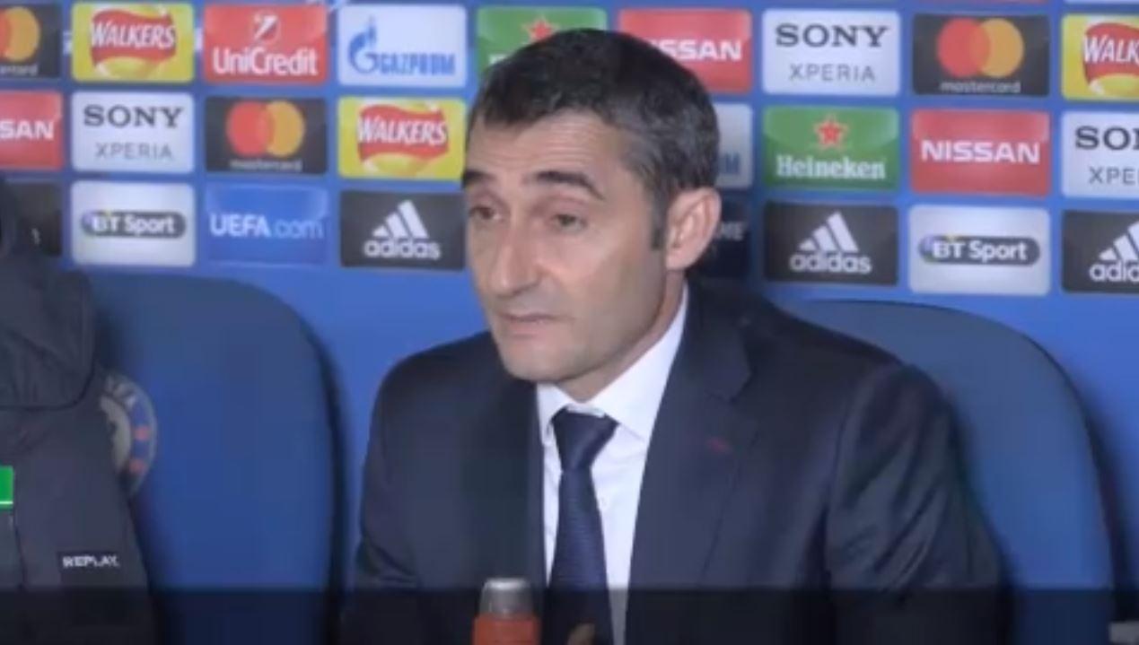 Football - Ligue des champions - Pour Valverde, le Barça ramène un «bon nul» de Chelsea