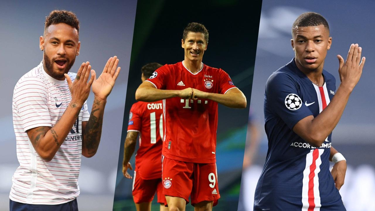 PSG-Bayern: Neymar, Lewandowski, Mbappé … Our dream eleven ...