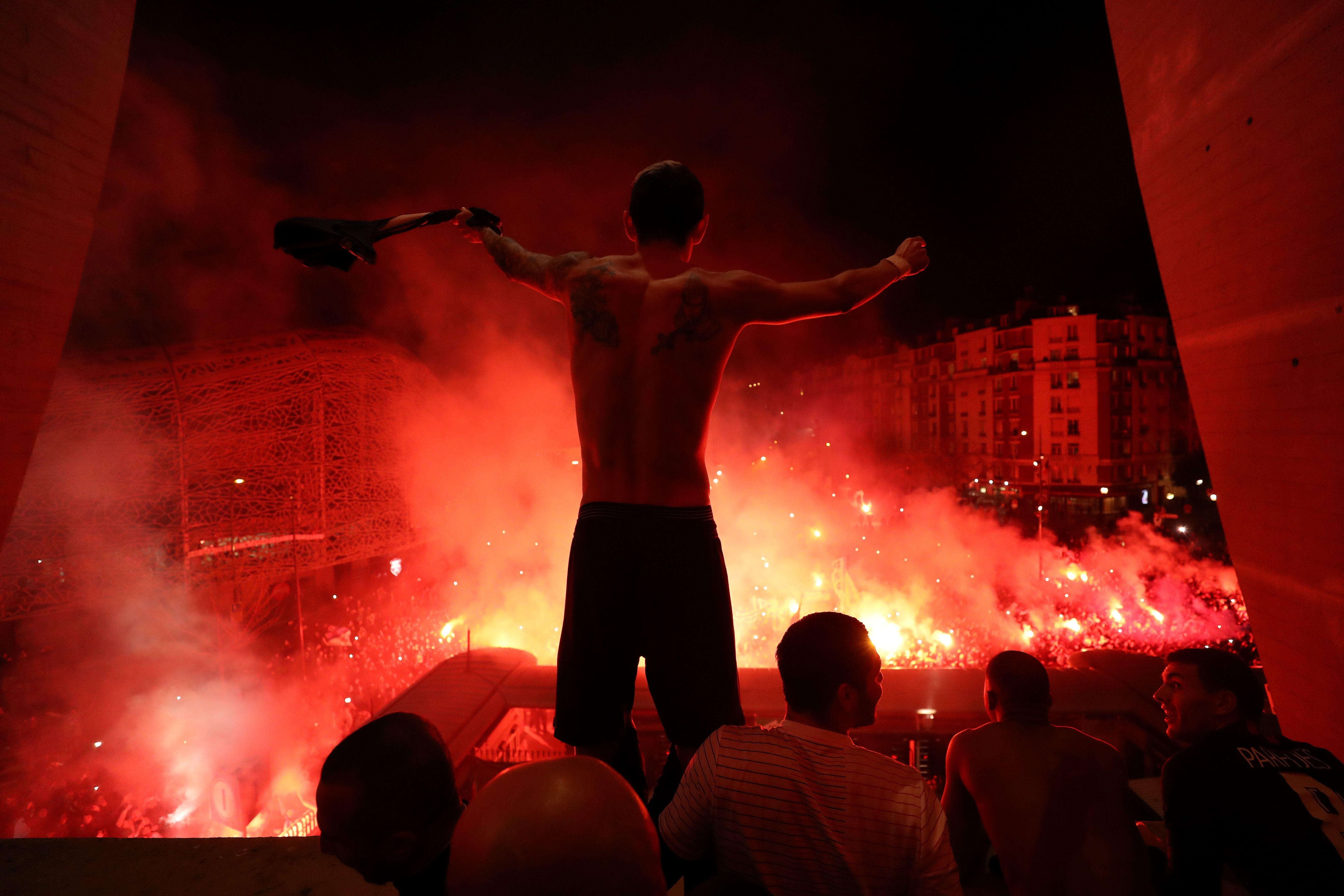 Football - Ligue des champions - Lunaire dedans, volcanique dehors ... Récit d'un PSG-Dortmund (vraiment) pas comme les autres