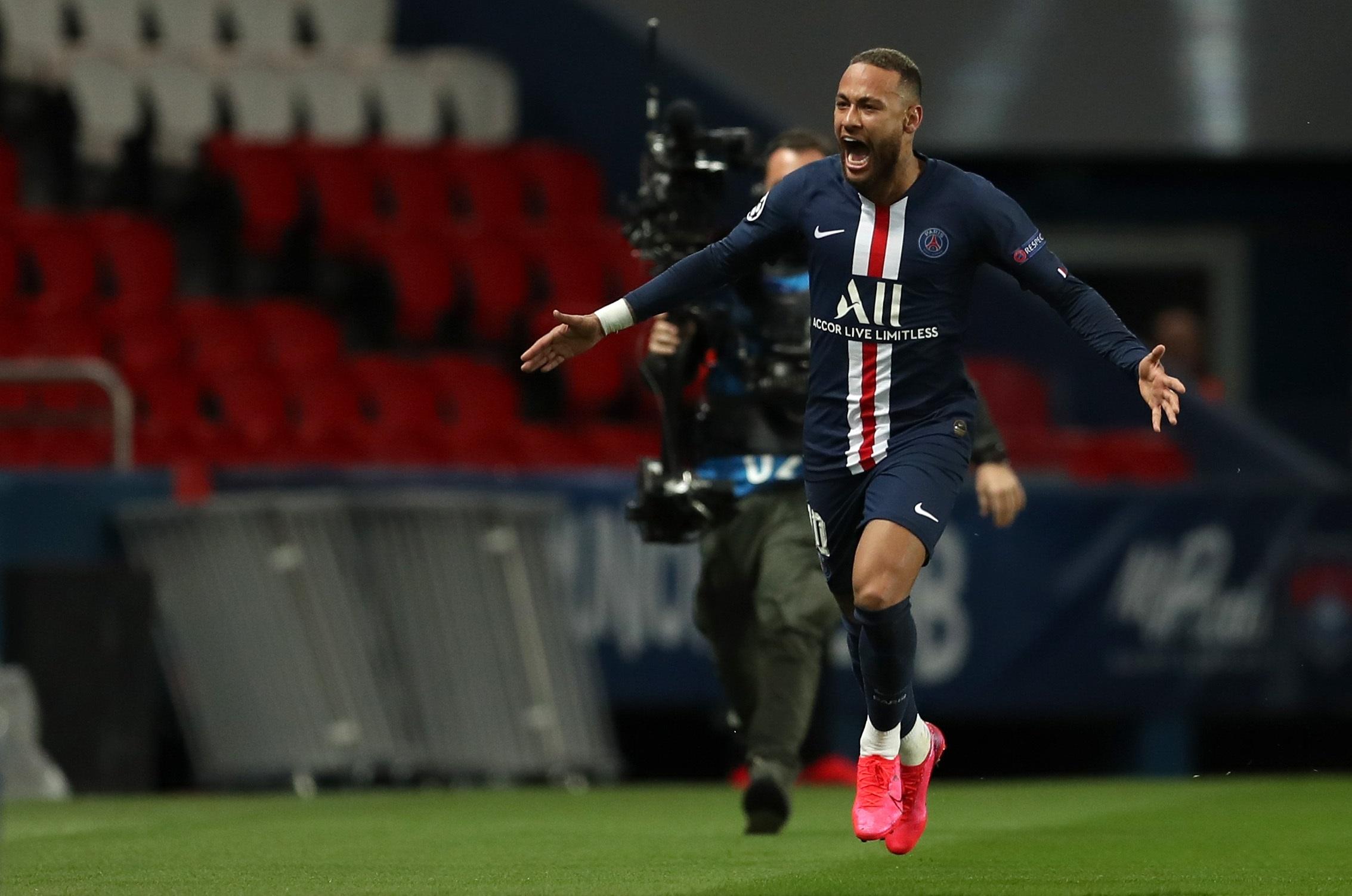 Football - Ligue des champions - PSG : Neymar, comme un symbole