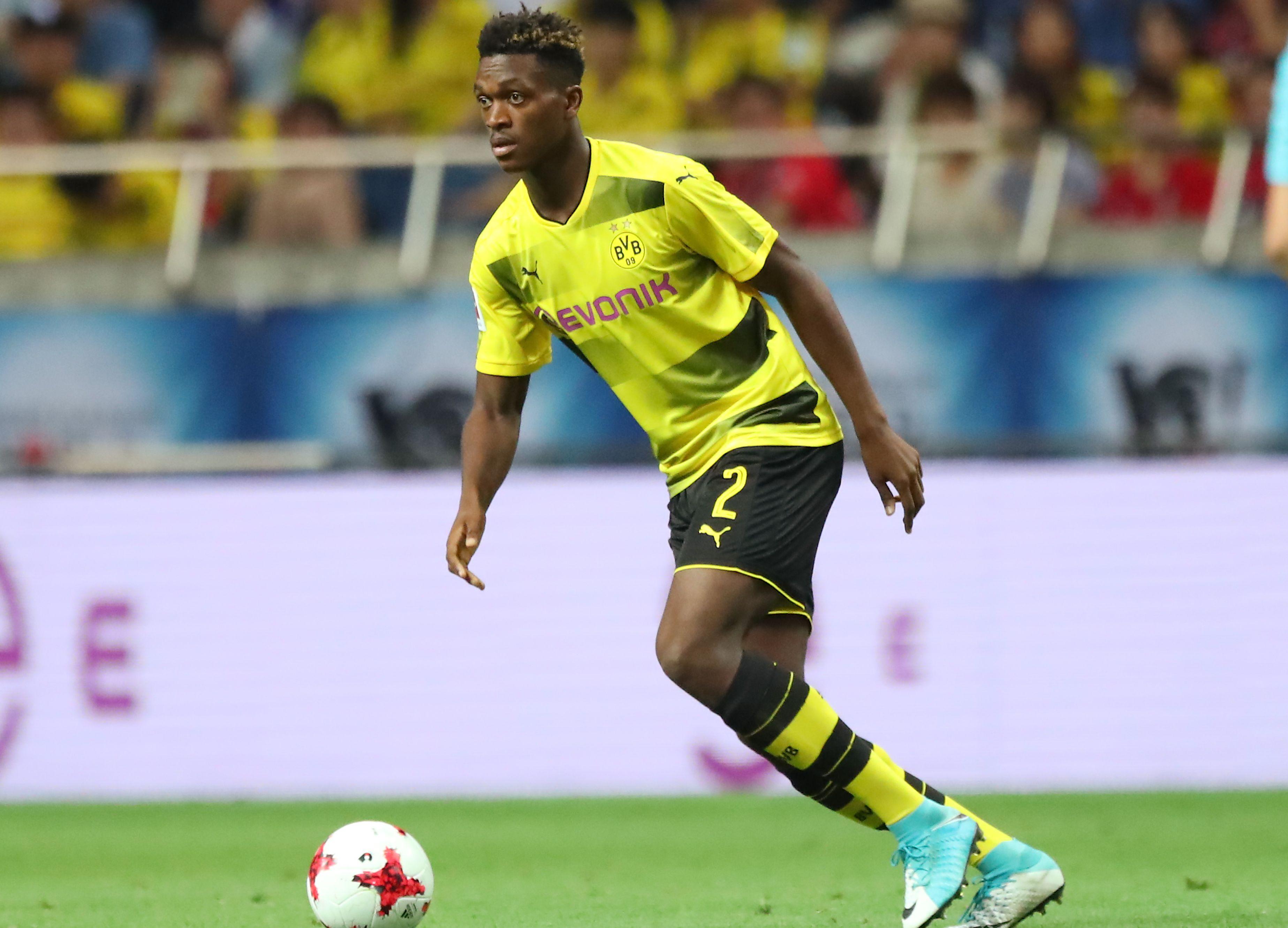 Maillot Extérieur Borussia Dortmund Dan-Axel Zagadou