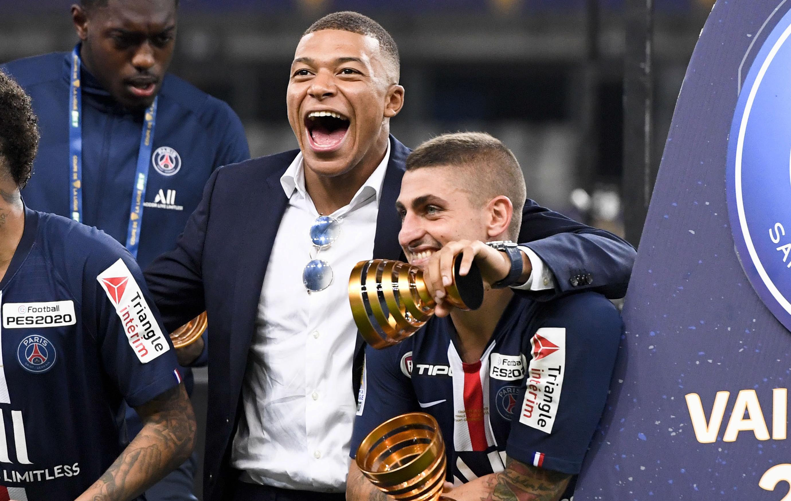 Football - Ligue des champions - PSG : Verratti très incertain, Mbappé au mieux sur le banc contre l'Atalanta ?