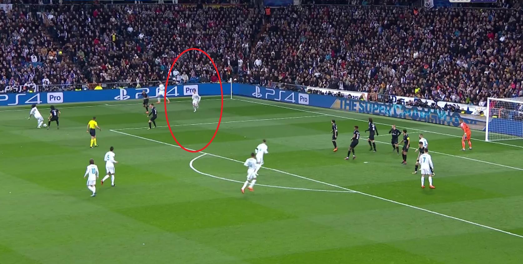Football - Ligue des champions - Real-PSG : Kroos hors-jeu avant de provoquer le penalty madrilène ?