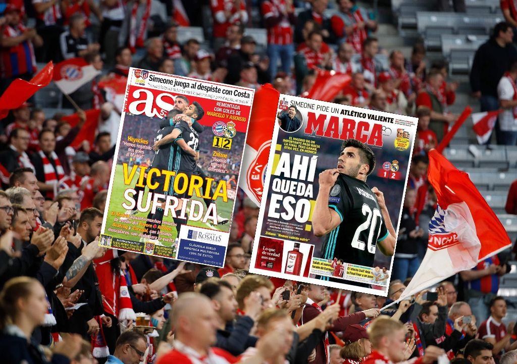 Football - Ligue des champions - Revue de presse : «le Madrid de Zidane terreur de l'Europe»