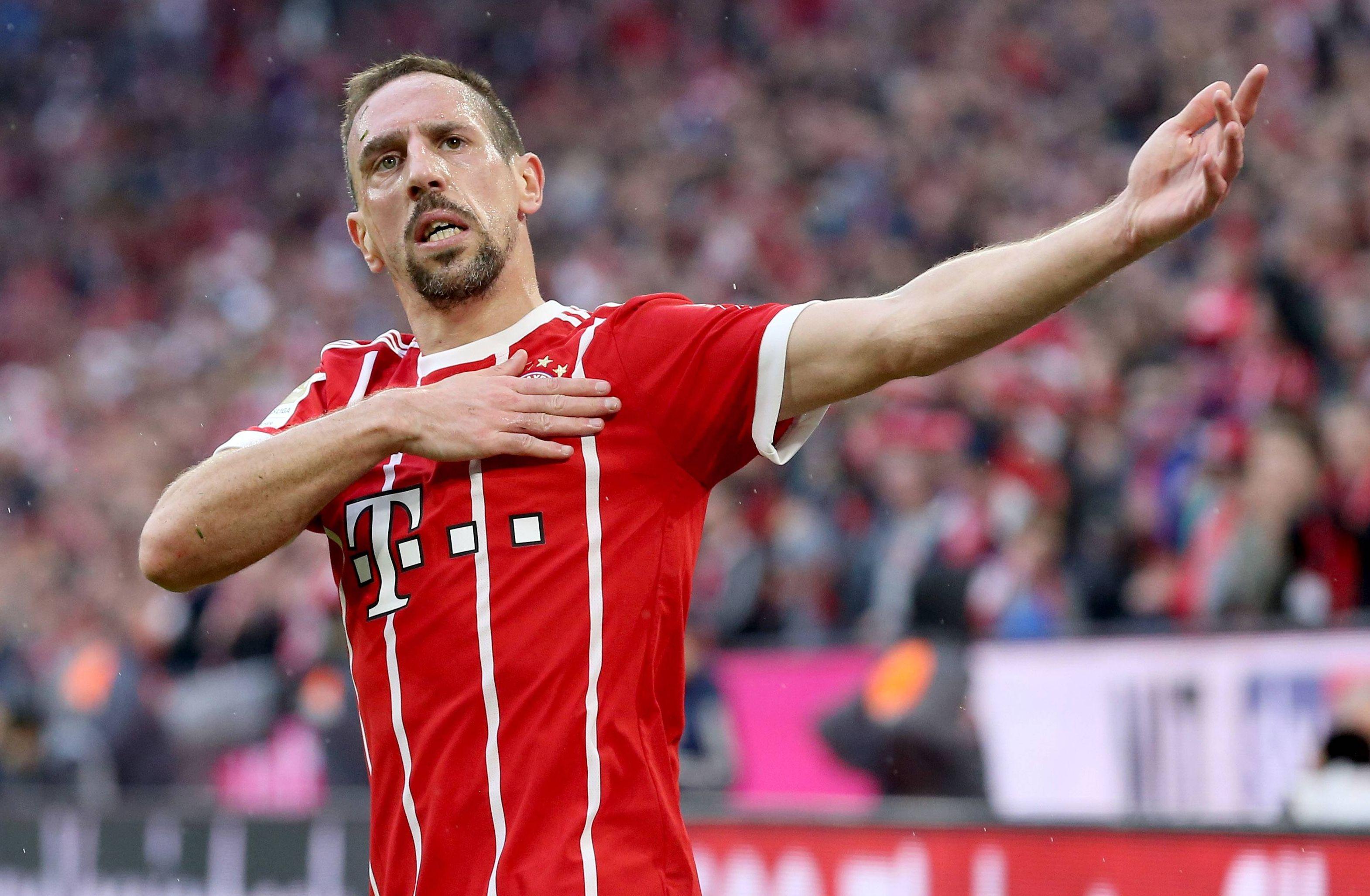 Football - Ligue des champions - Ribéry veut gagner sa place au Bayern... en 2019