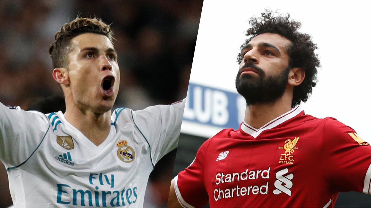 Football - Ligue des champions - Ronaldo-Salah, un duel en chiffres