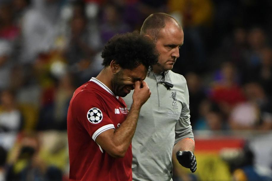 Football - Ligue des champions - Salah sort en larmes, la tâche se complique pour Liverpool