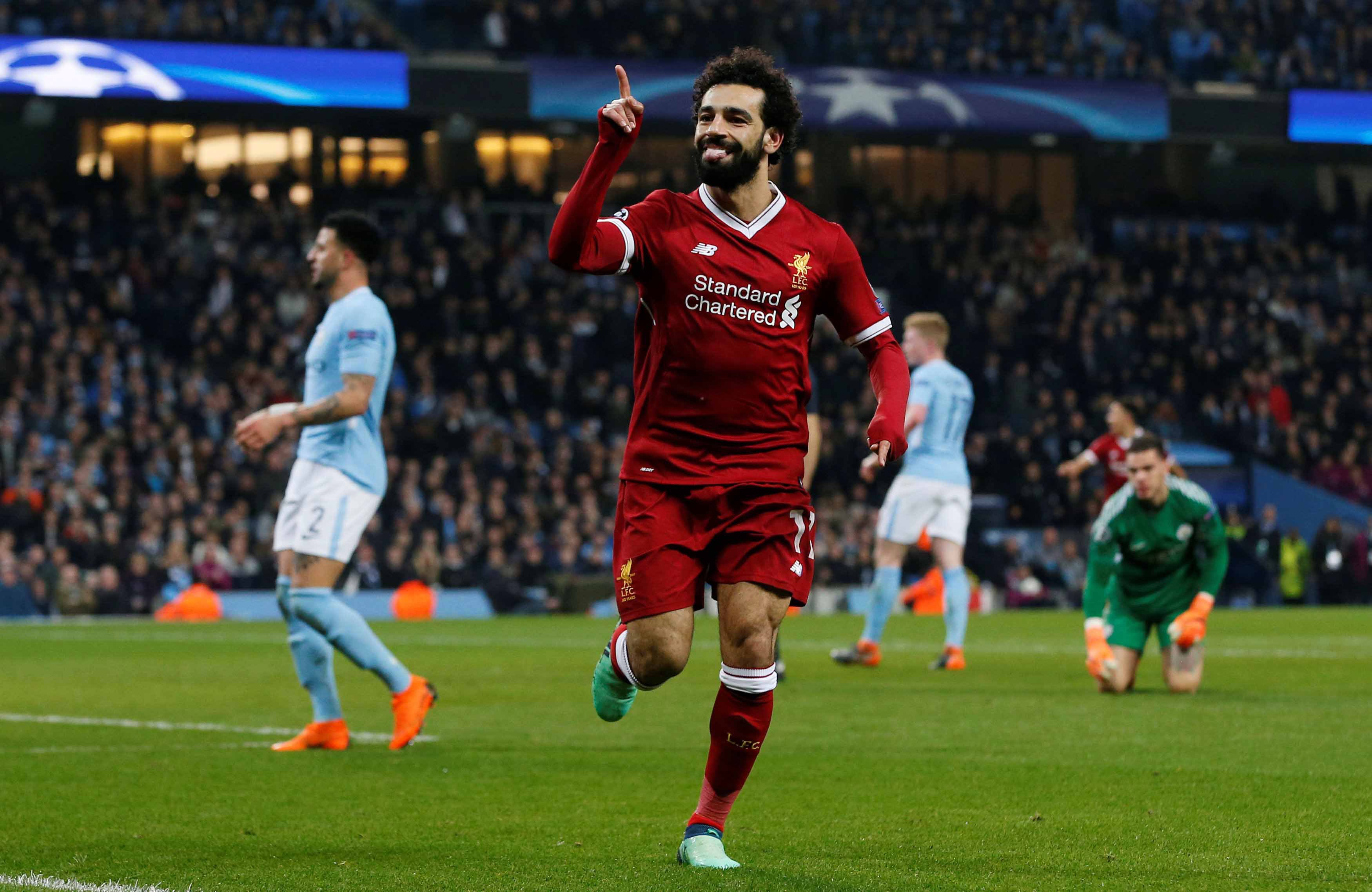 Football - Ligue des champions - Salah, une saison record