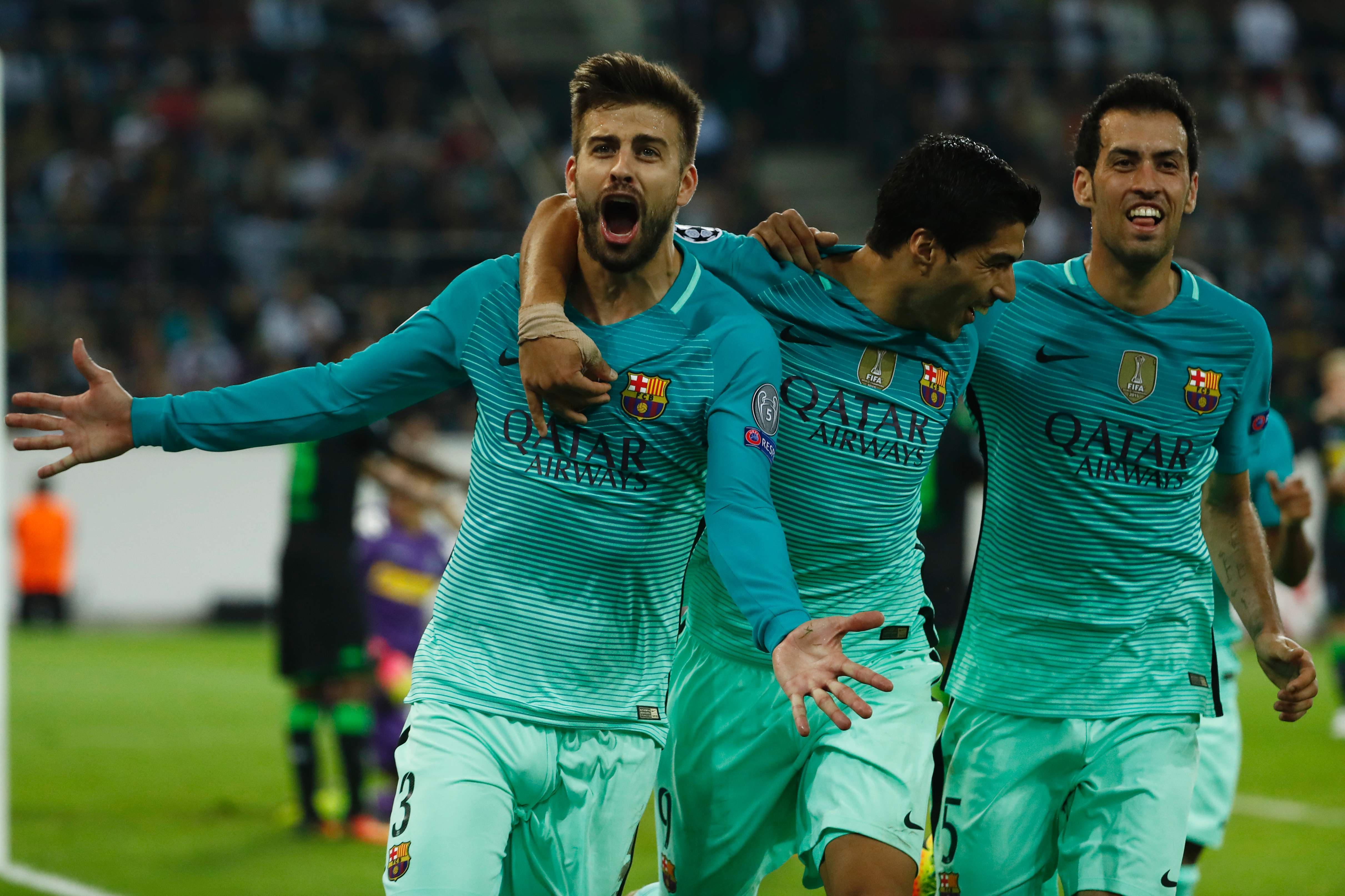 Football - Ligue des champions - Même sans Messi, le Barça assure