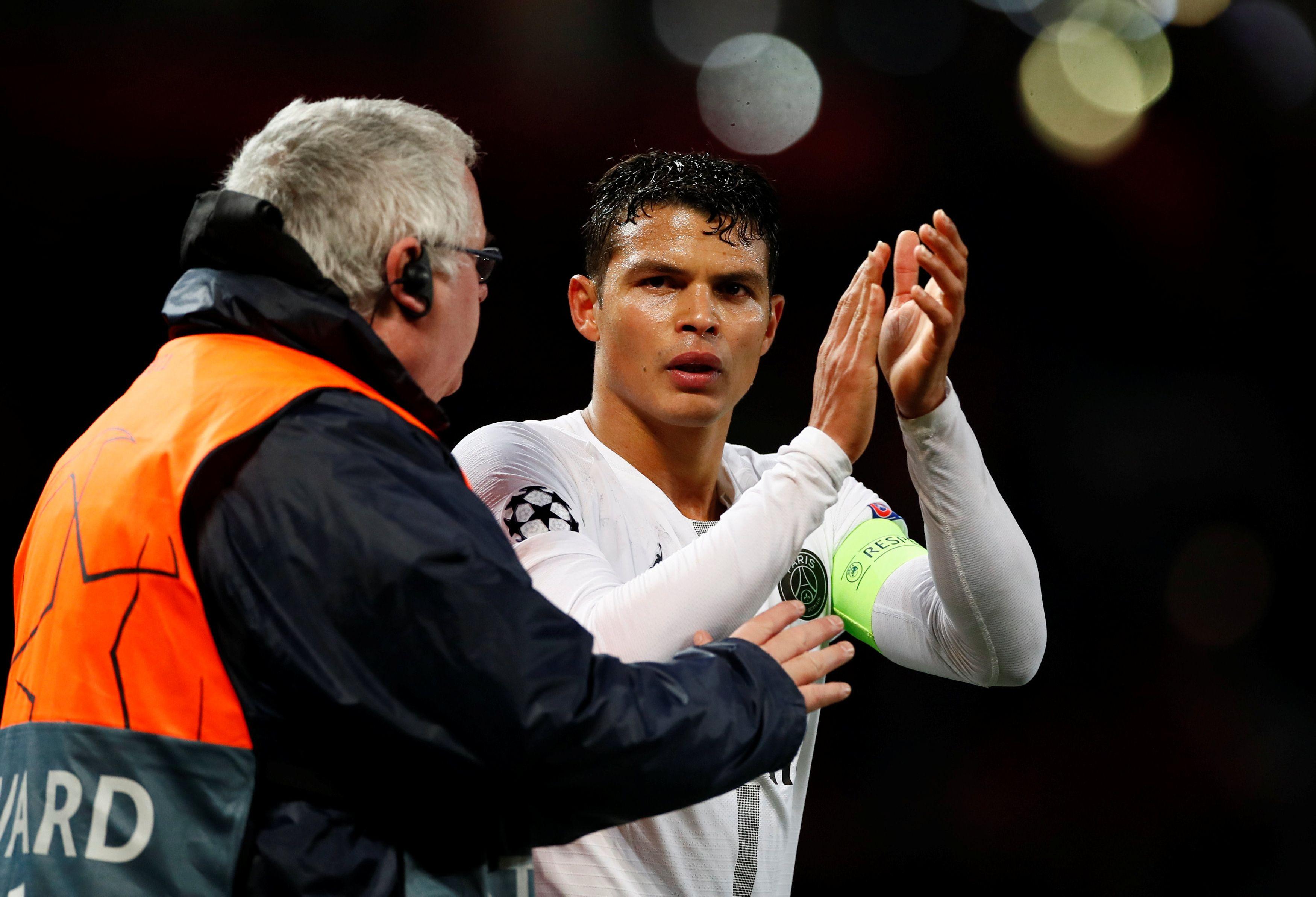 Football - Ligue des champions - Silva et le sérieux parisien affiché à Manchester : «Si on joue comme ça, on peut faire de grandes choses»