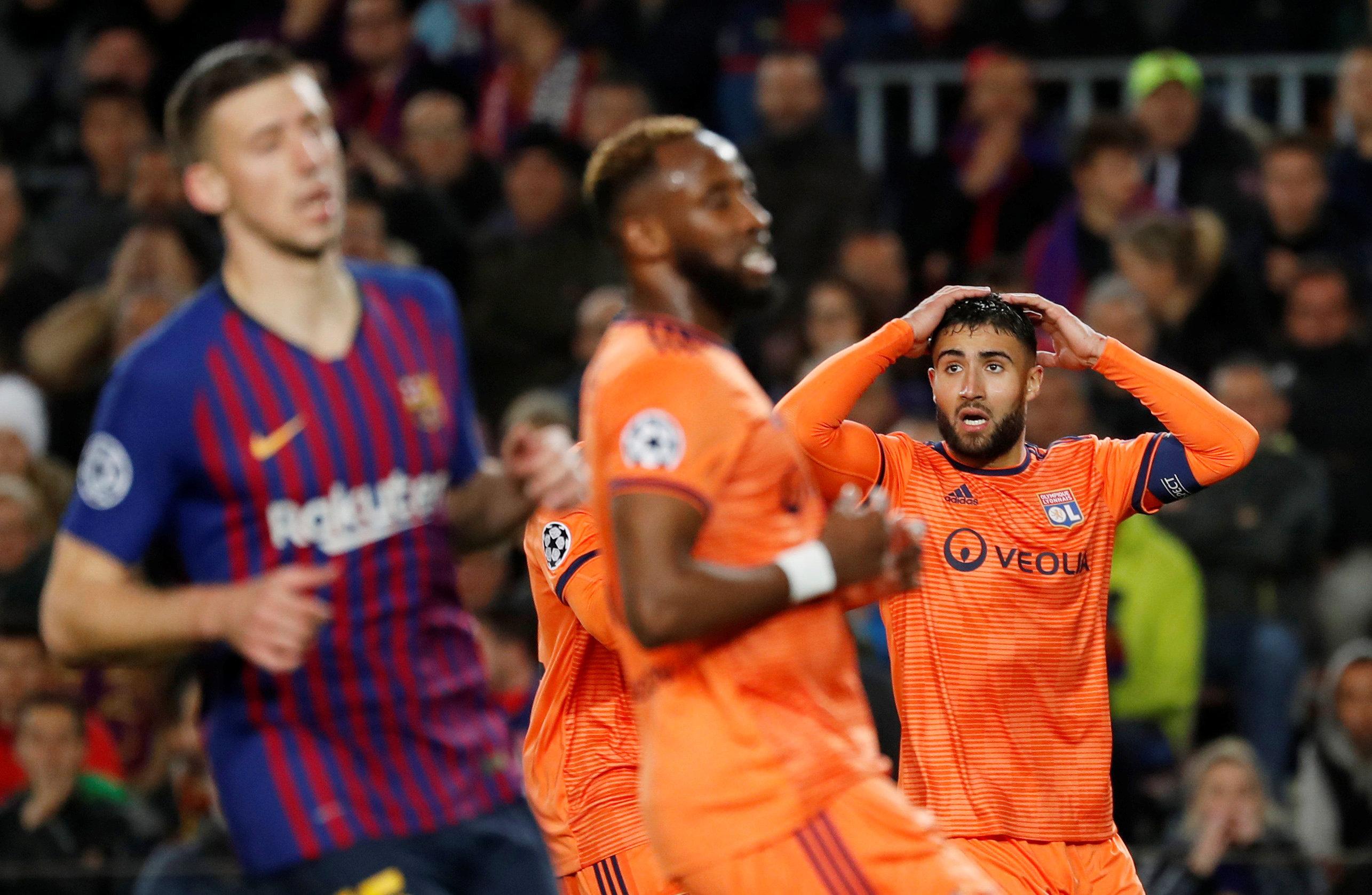 Football - Ligue des champions - Surclassé au final, Lyon y aura cru pendant 20 minutes
