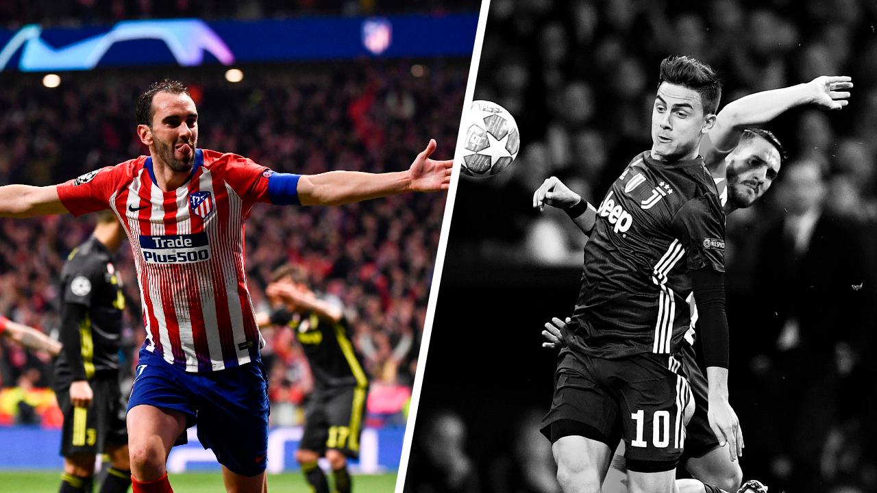 Football - Ligue des champions - Tops/flops Atlético Madrid-Juventus Turin : Éternel Godin, la Vieille Dame a craqué